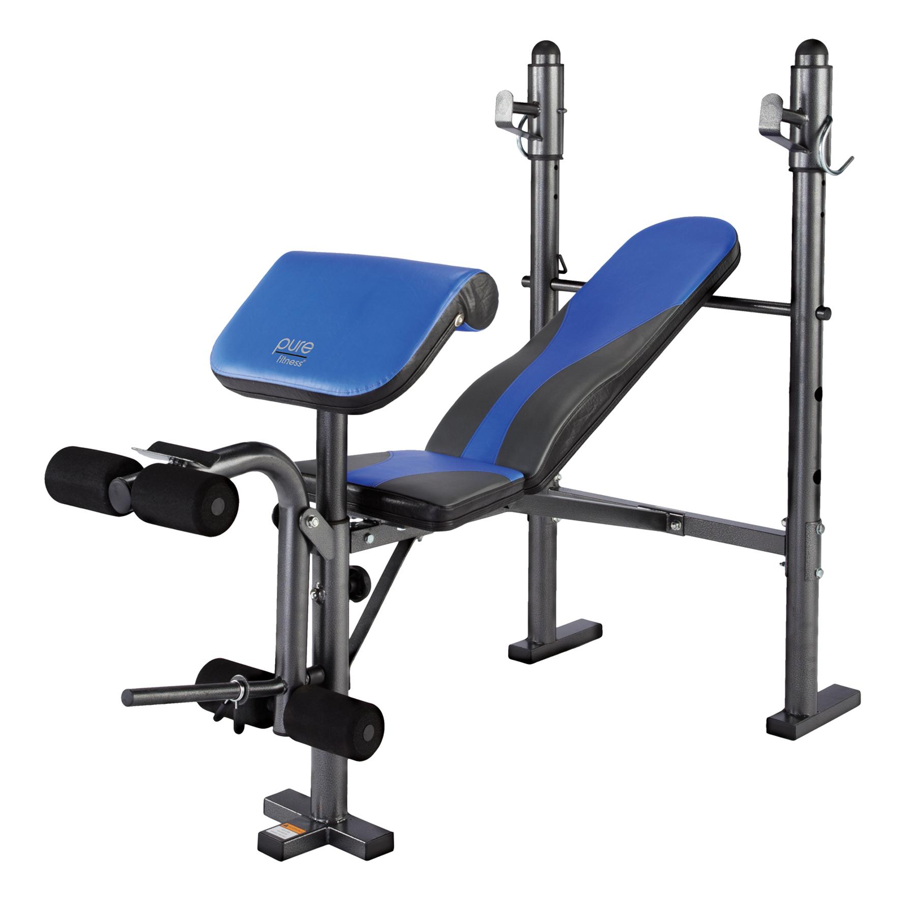 Pure Fitness Multi Purpose Adjustable Mid Width Weight
