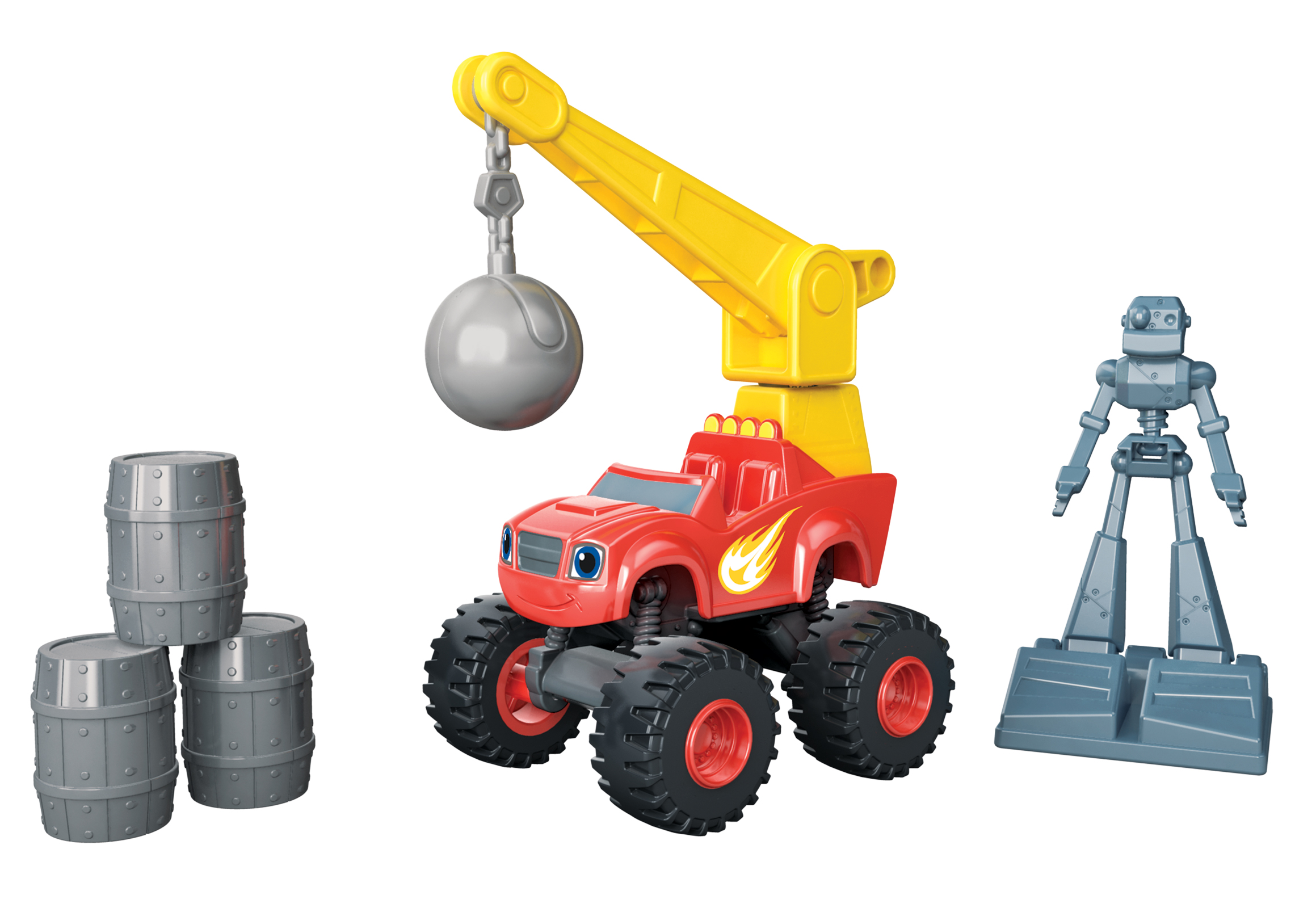 Nickelodeon Blaze And The Monster Machines Wrecking Crane