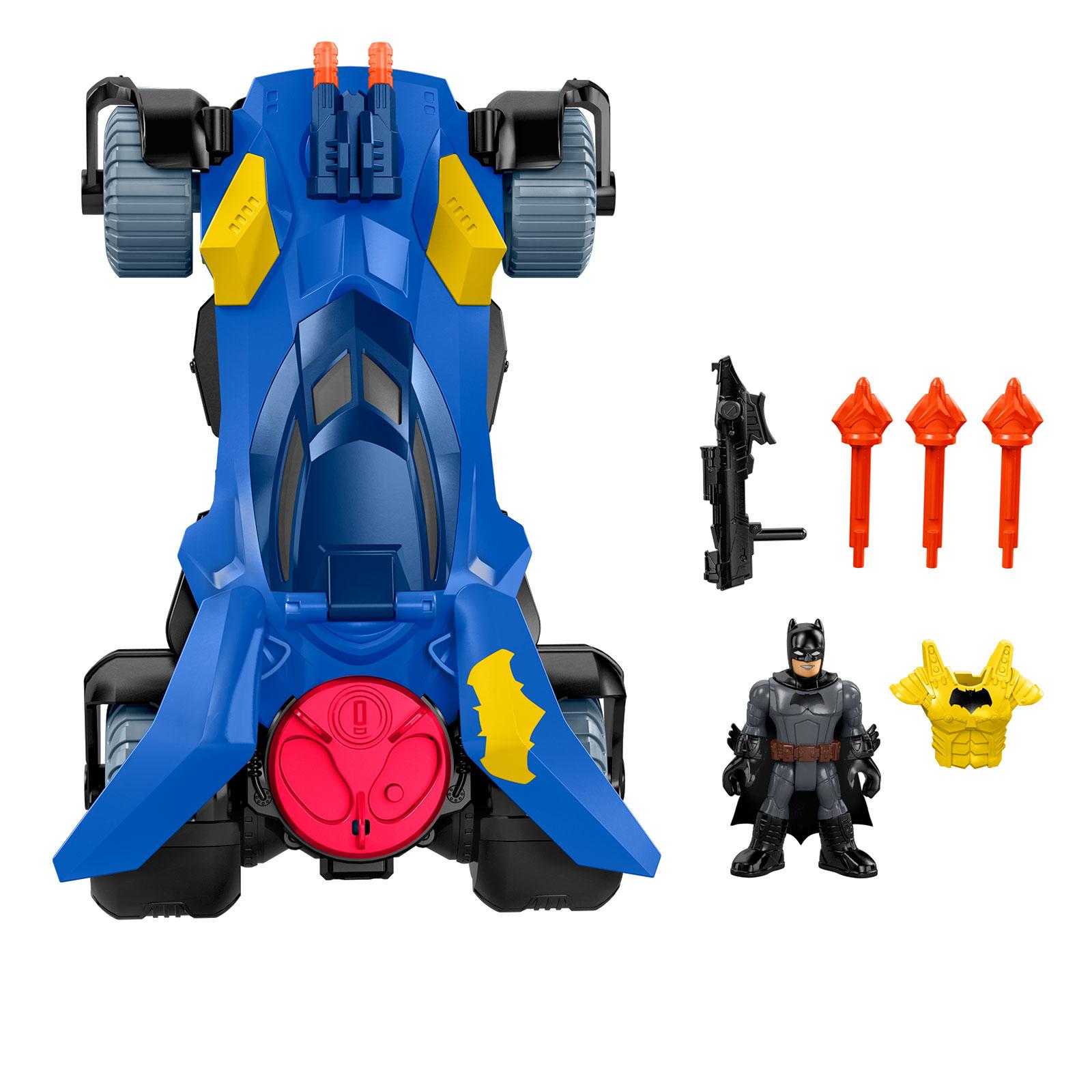 Imaginext DC Super Friends Batmobile With Batman Figure