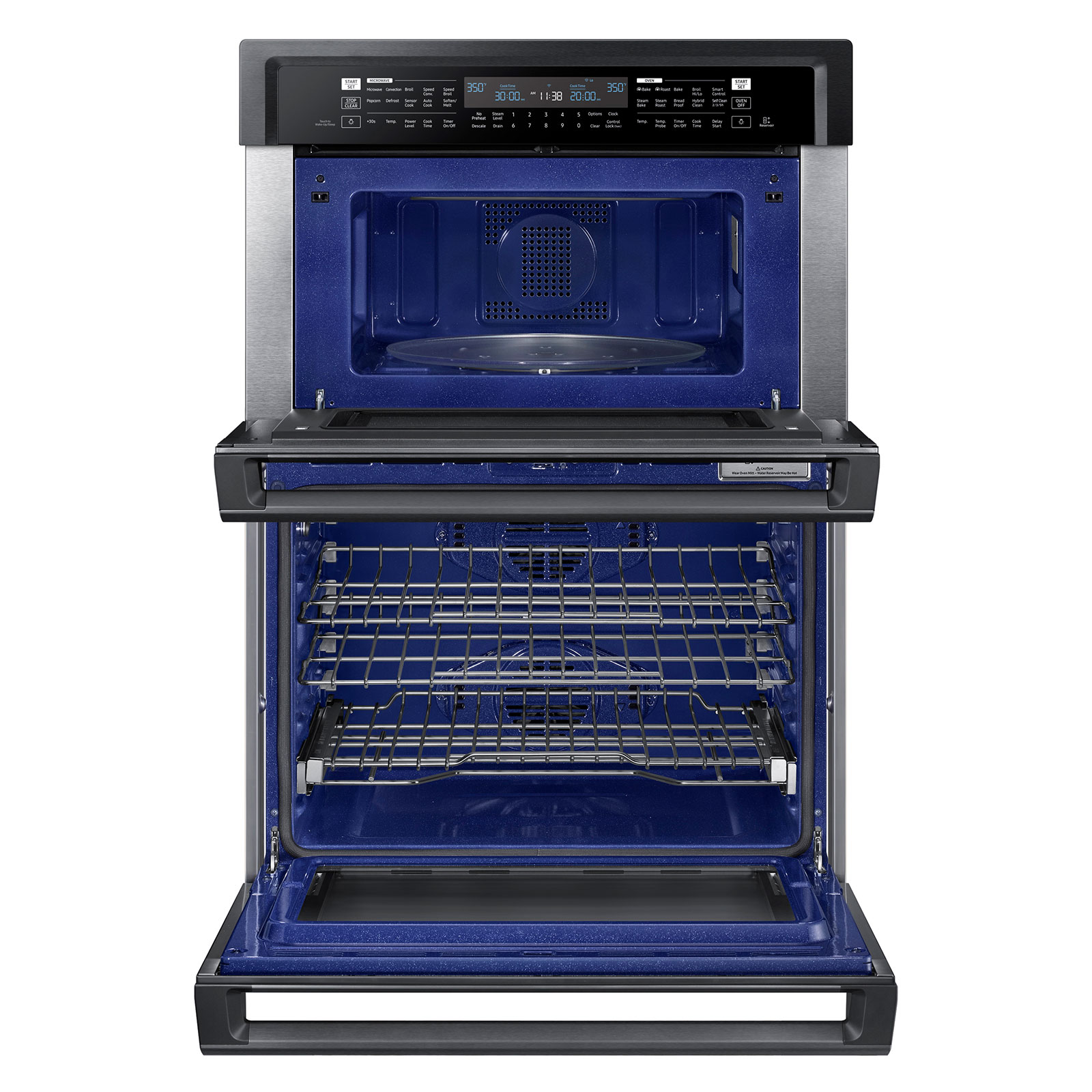 microwave combination wall oven