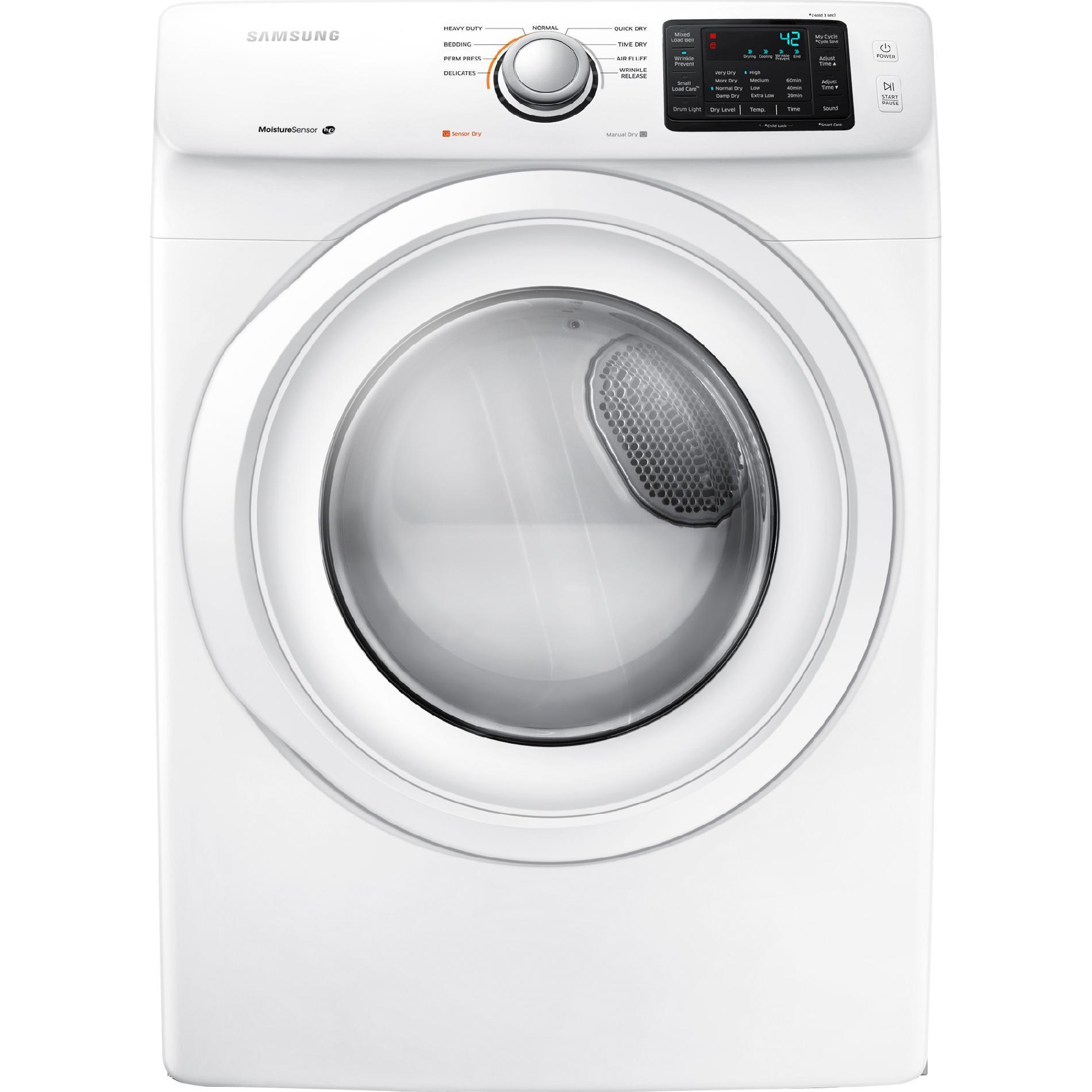 Samsung DV42H5000GW 7.5 cu. ft. Gas Dryer - White