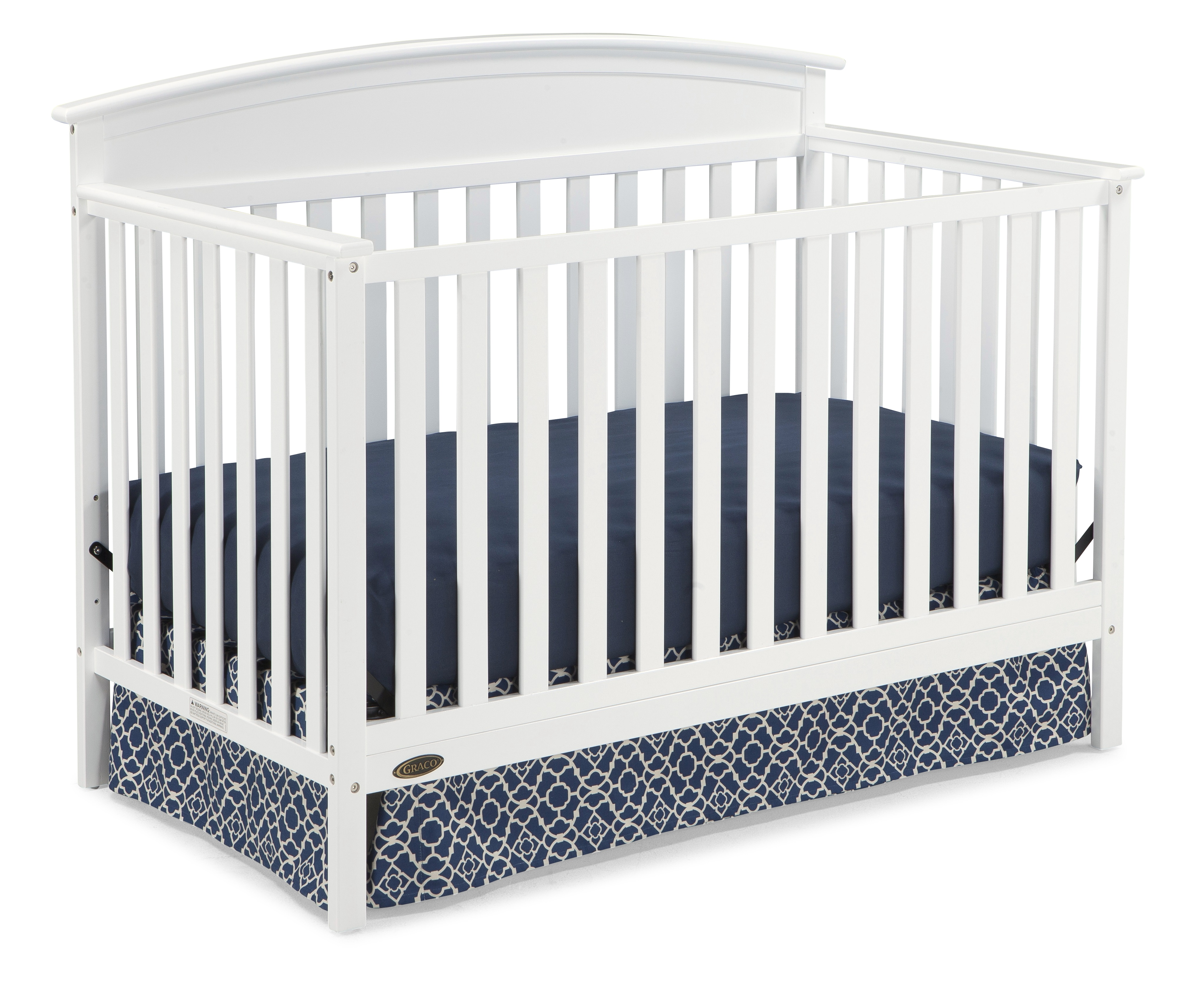 Graco Benton 5 In 1 Convertible Crib White