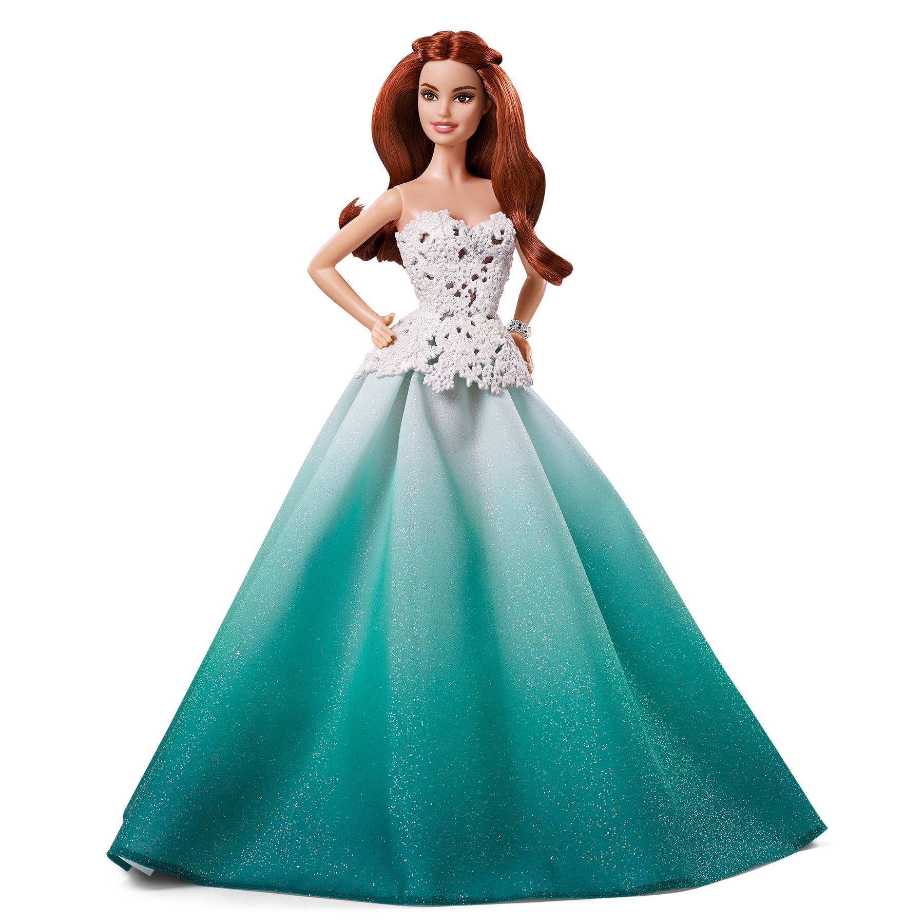 Barbie 2016 Holiday Doll With Red Hair Kmart Exclusive