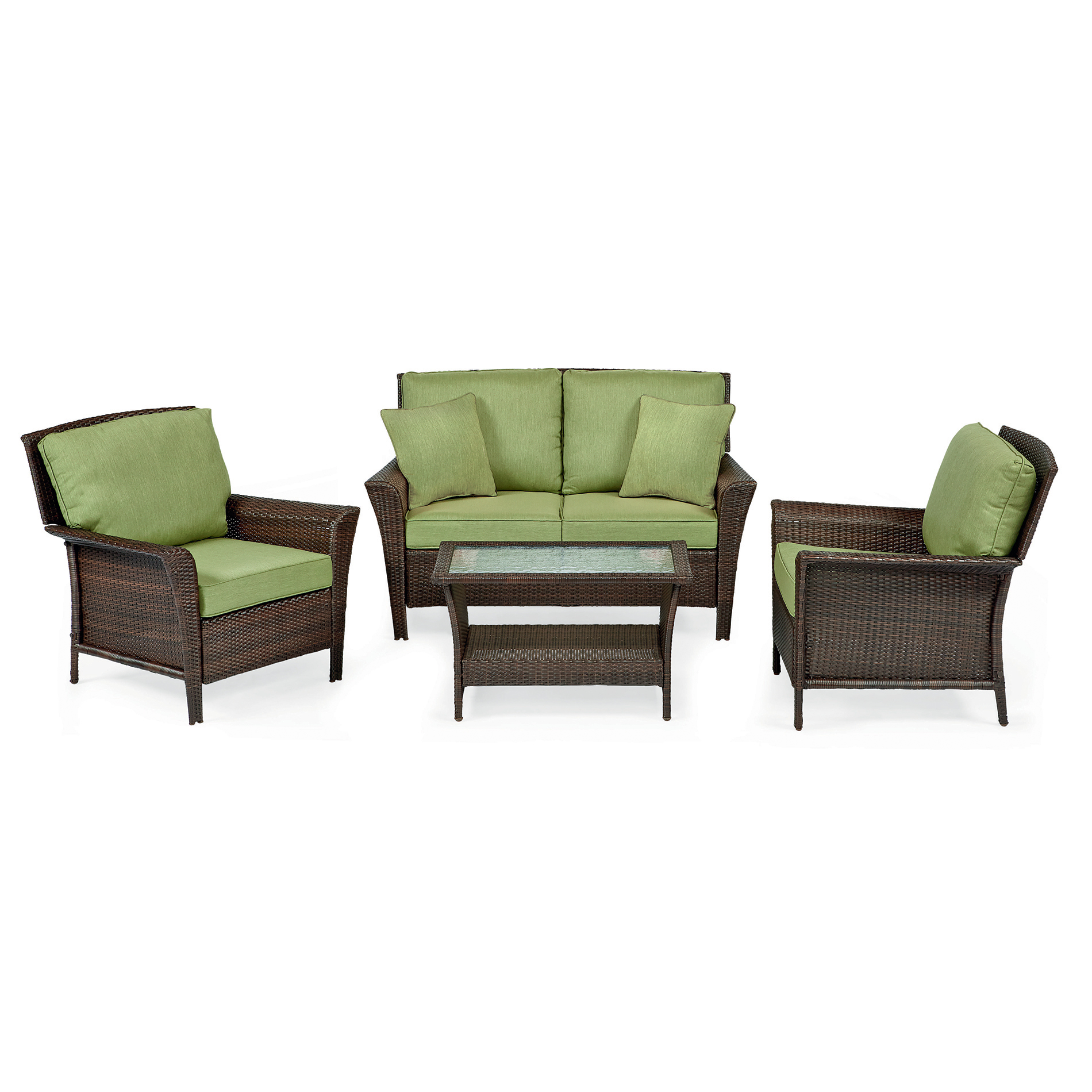 Ty Pennington Parkside 4 Pc Seating Set Green Outdoor