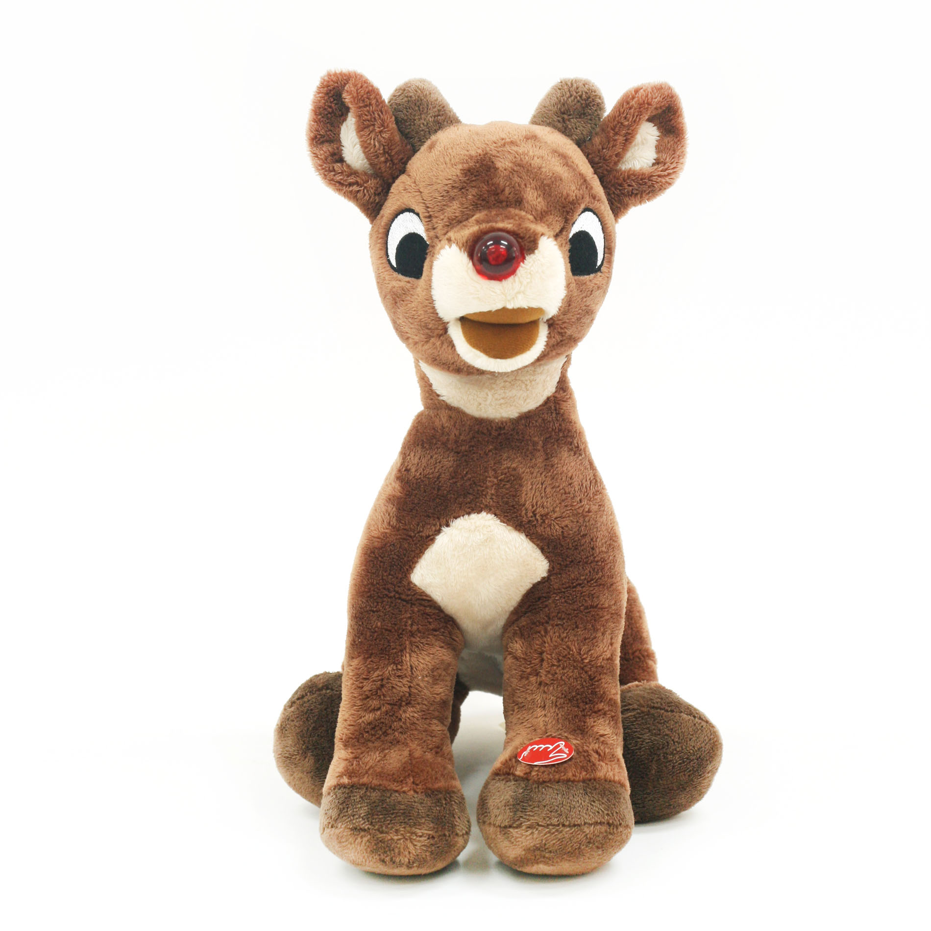 Rudolph The Red Nosed Reindeer 15 Musical Light Up Plush
