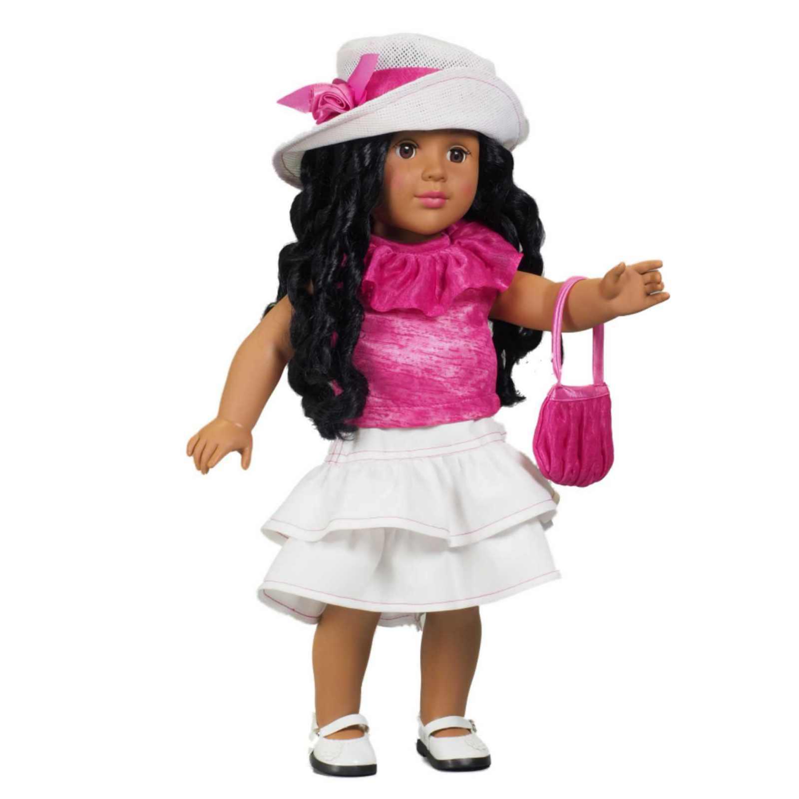 The Queens Treasures Hot Pink Skirt Set Fits 18