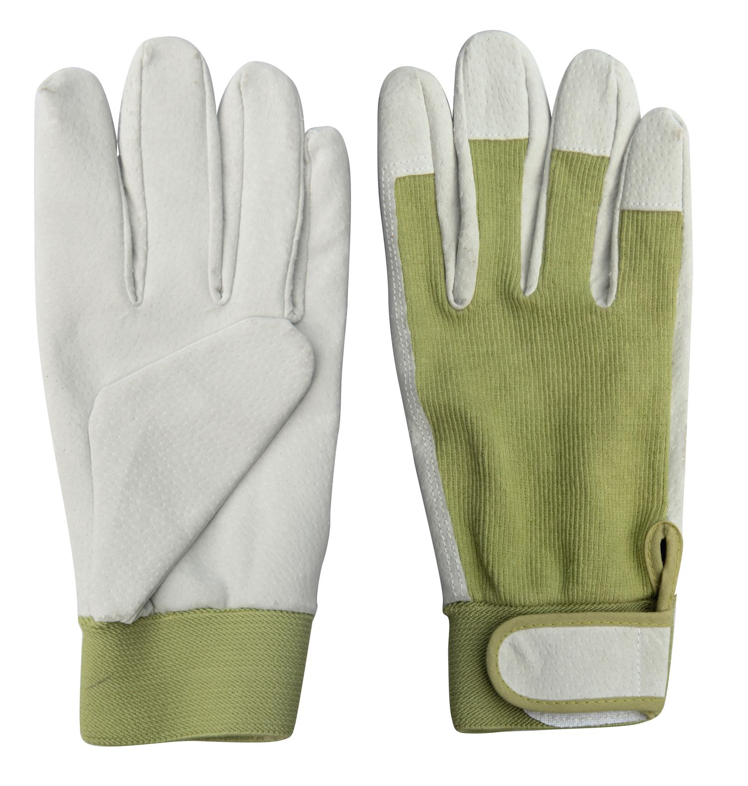Worth Garden 6131 Spandex Leather Ladies Garden Gloves