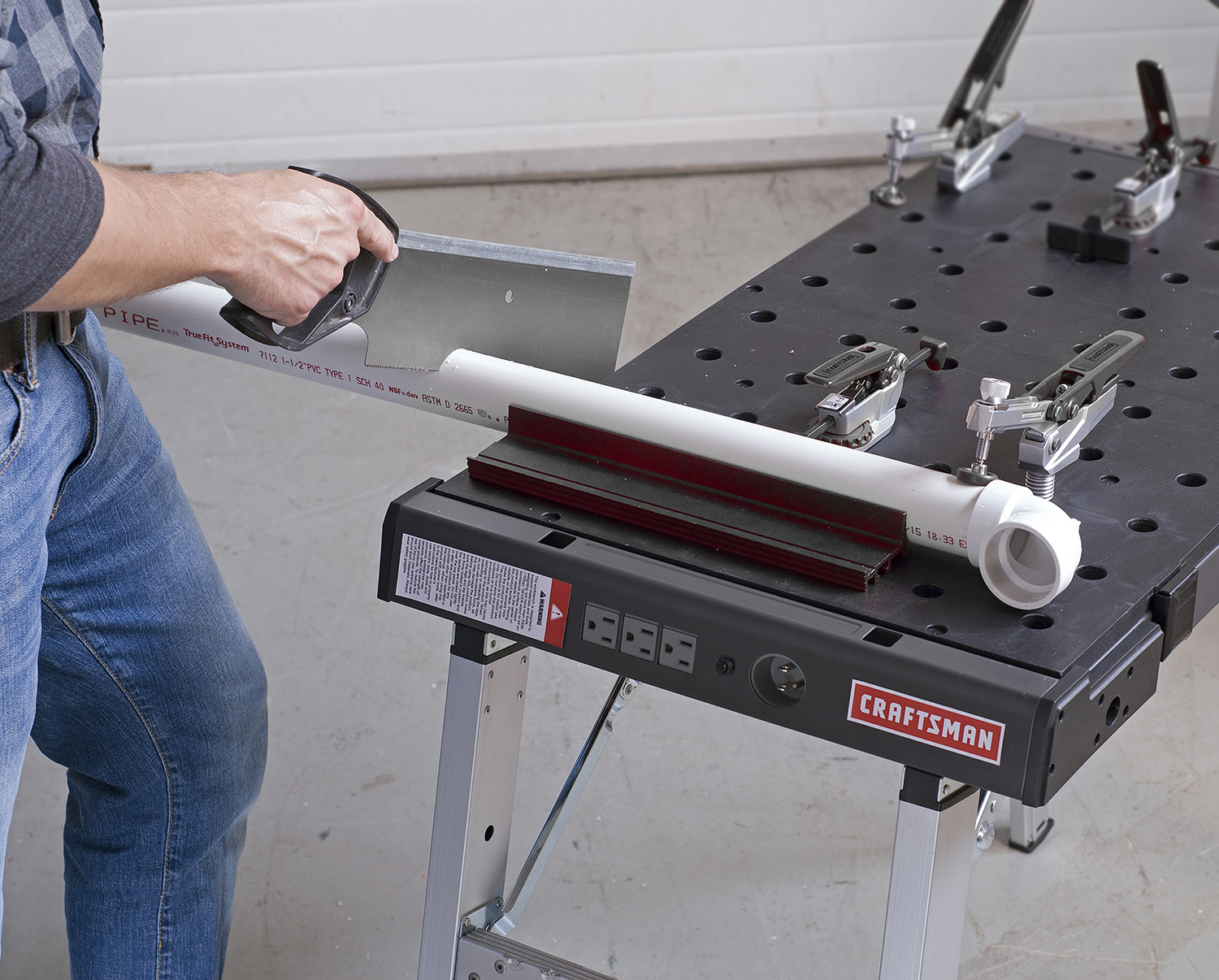 Craftsman Portable Peg Clamping Workbench