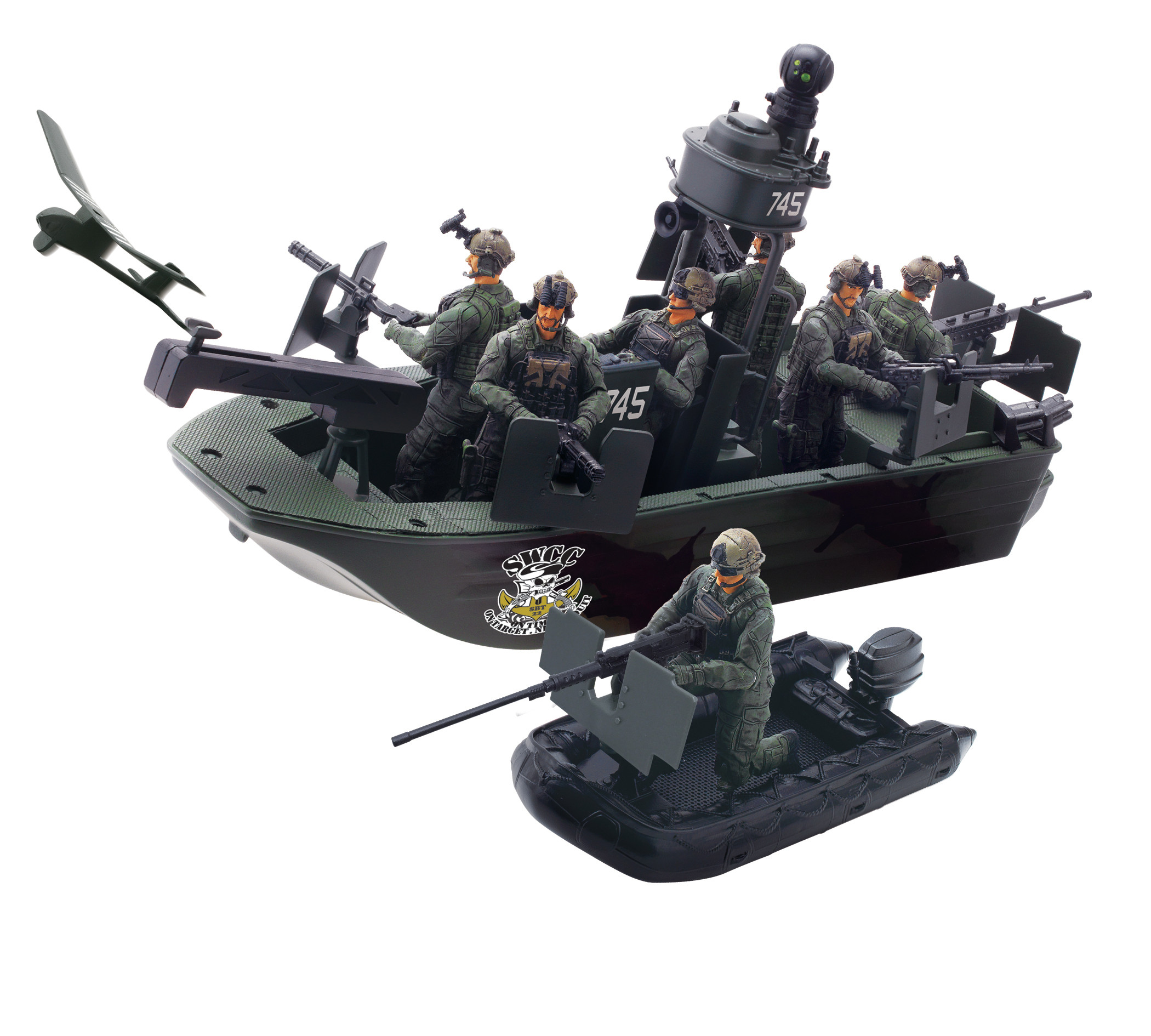 Blue Box Toys 118 Elite Force Air To Land Mission Naval