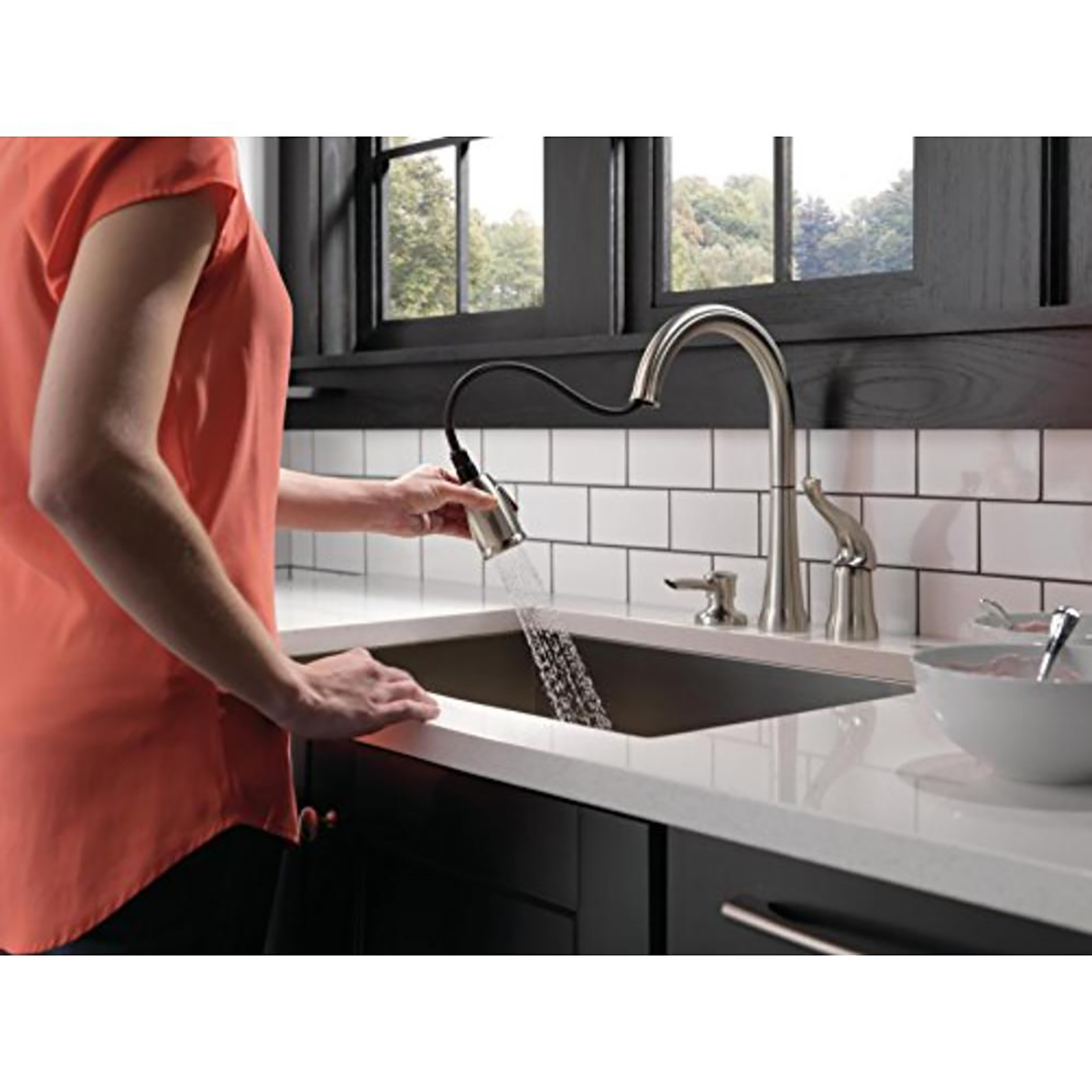 delta faucet kitchen bar faucets sears