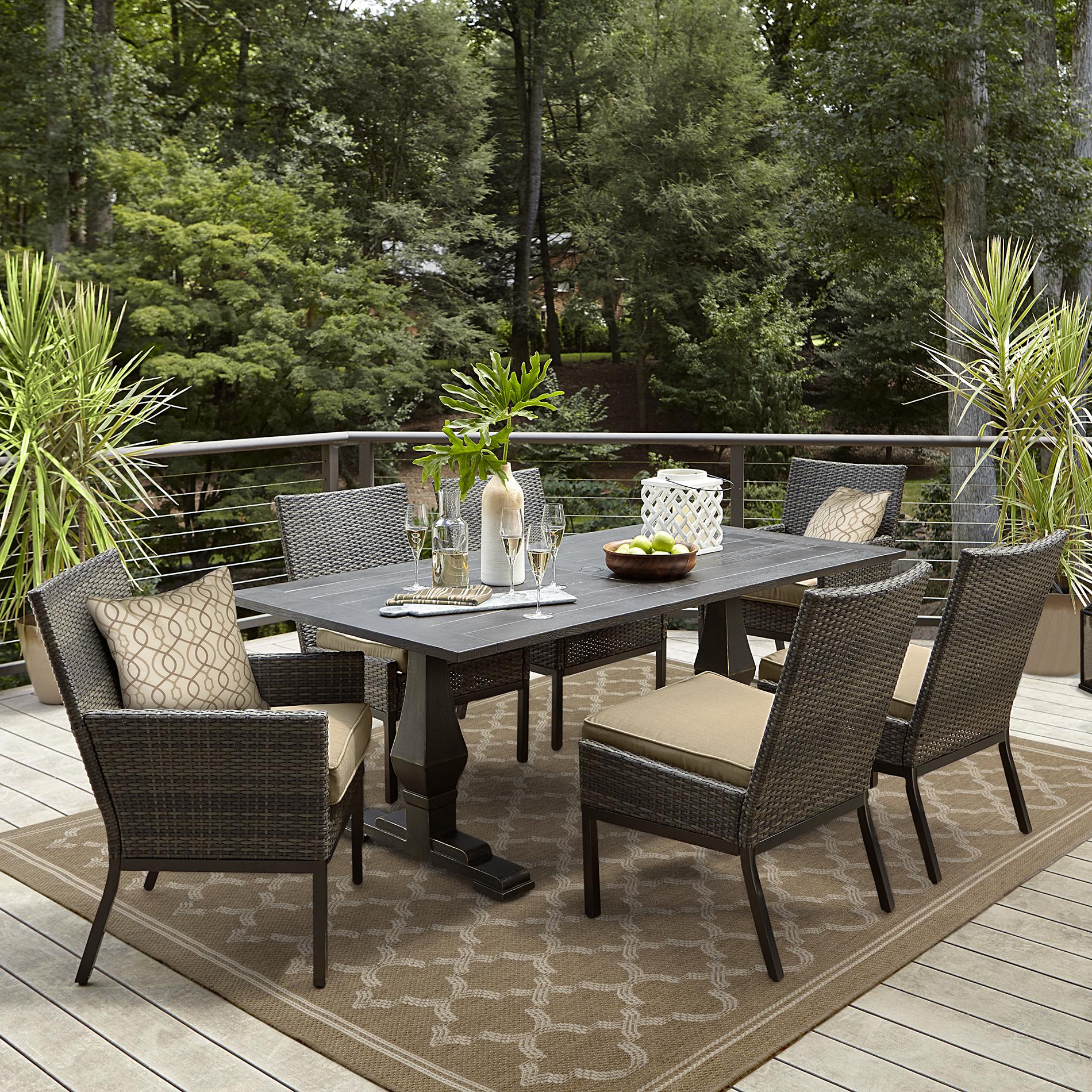 grand resort monterey outdoor dining table
