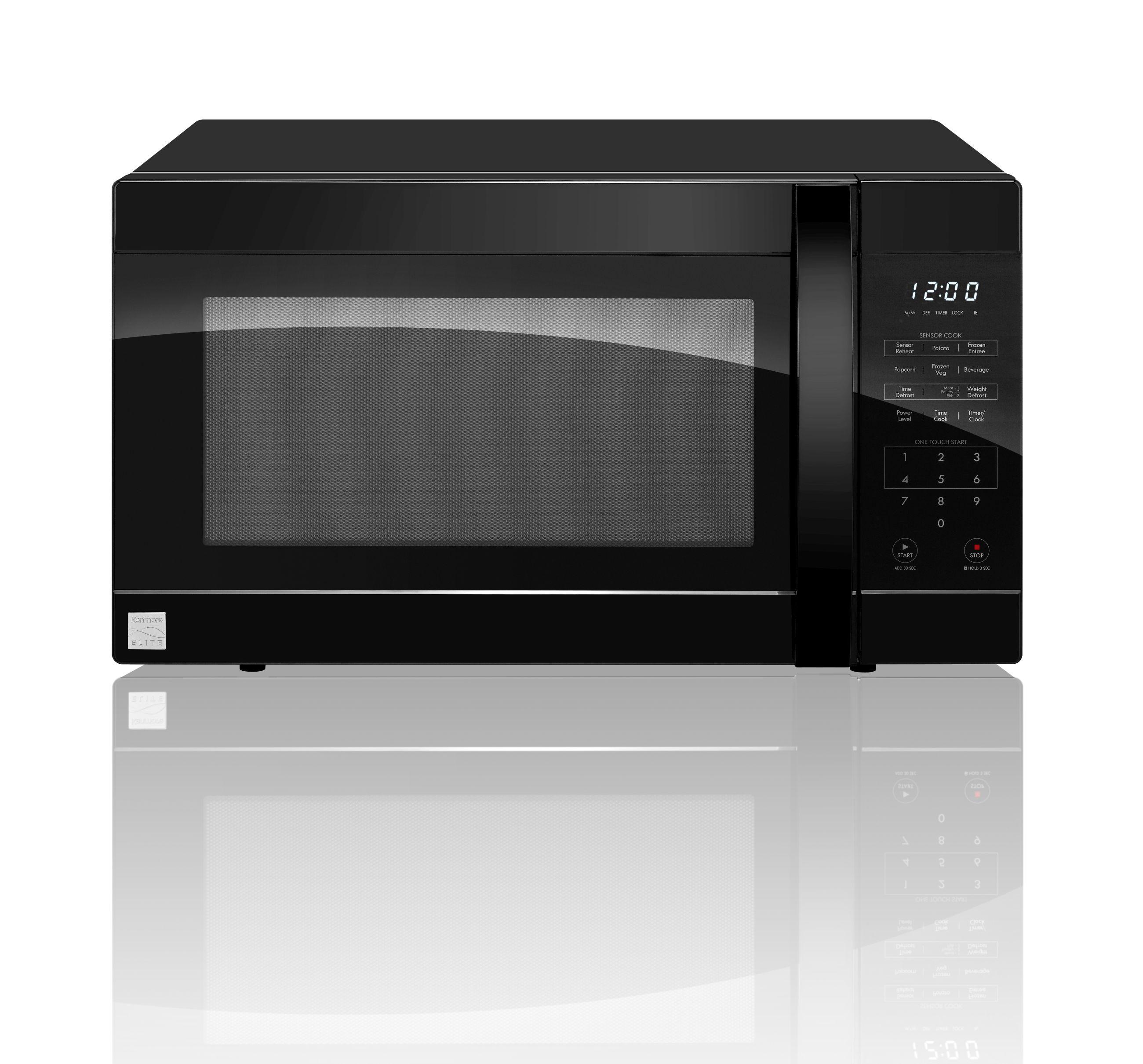 kenmore elite countertop microwaves sears
