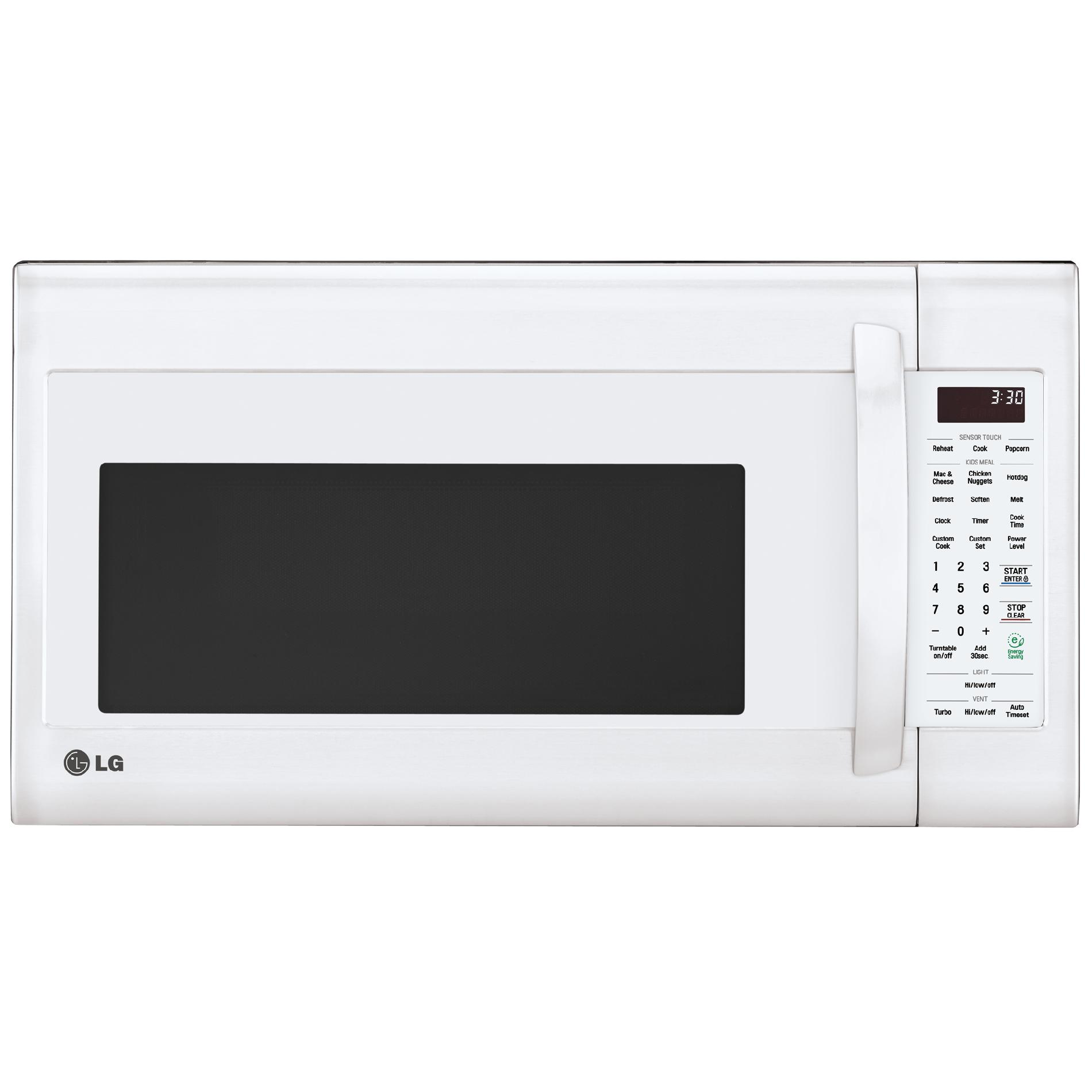 white over the range microwaves sears