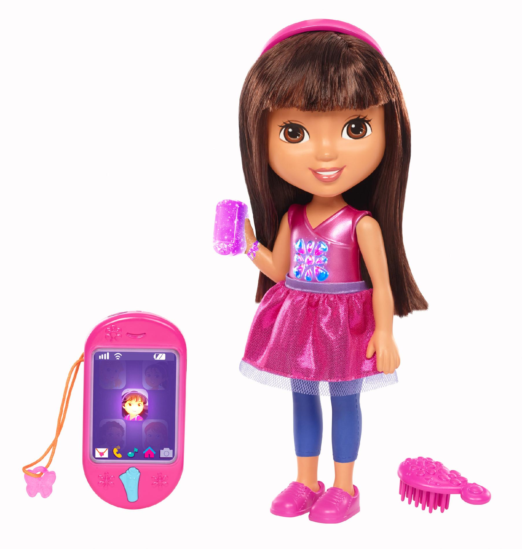 Nickelodeon Talking Dora And Smartphone By Fisher Price