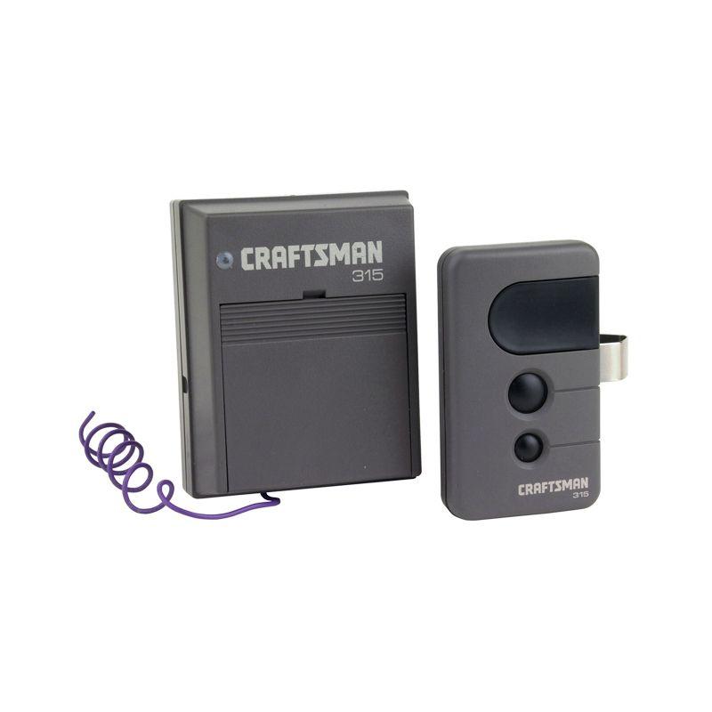 Craftsman Remote Control 315Mhz 3 Function Security