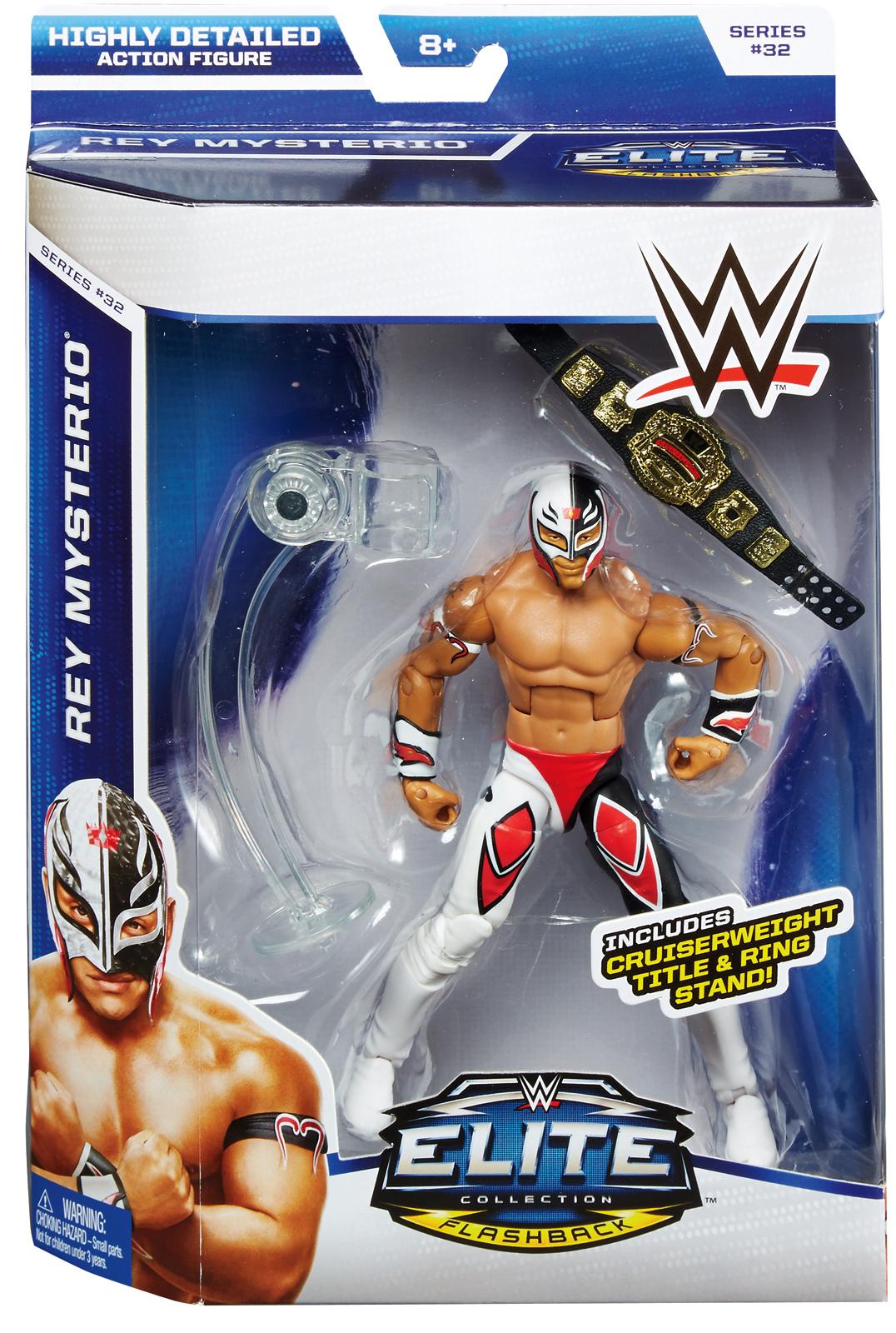 WWE Rey Mysterio Elite 32 Toy Wrestling Action Figure
