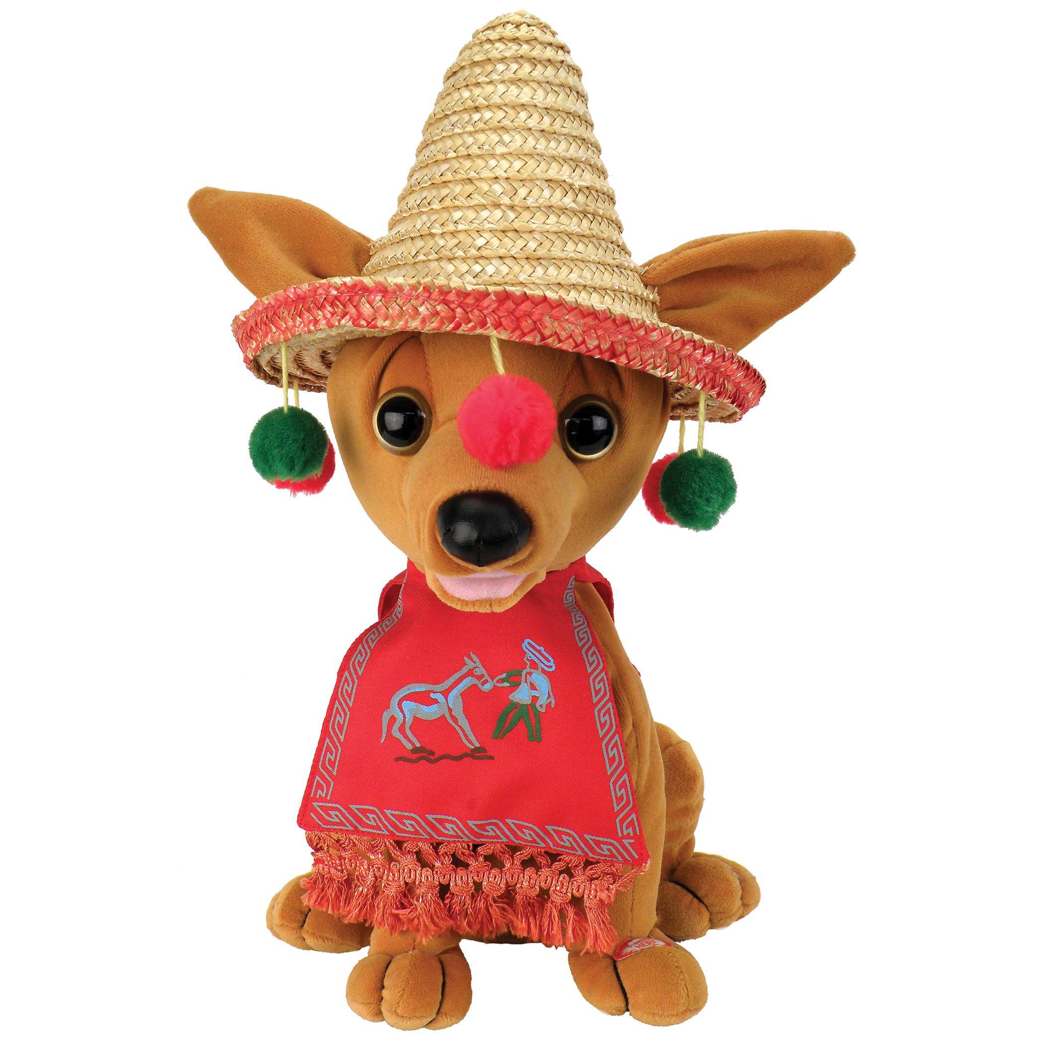 Chantilly Lane G5017 10in Pancho Chihuahua Dog Sings