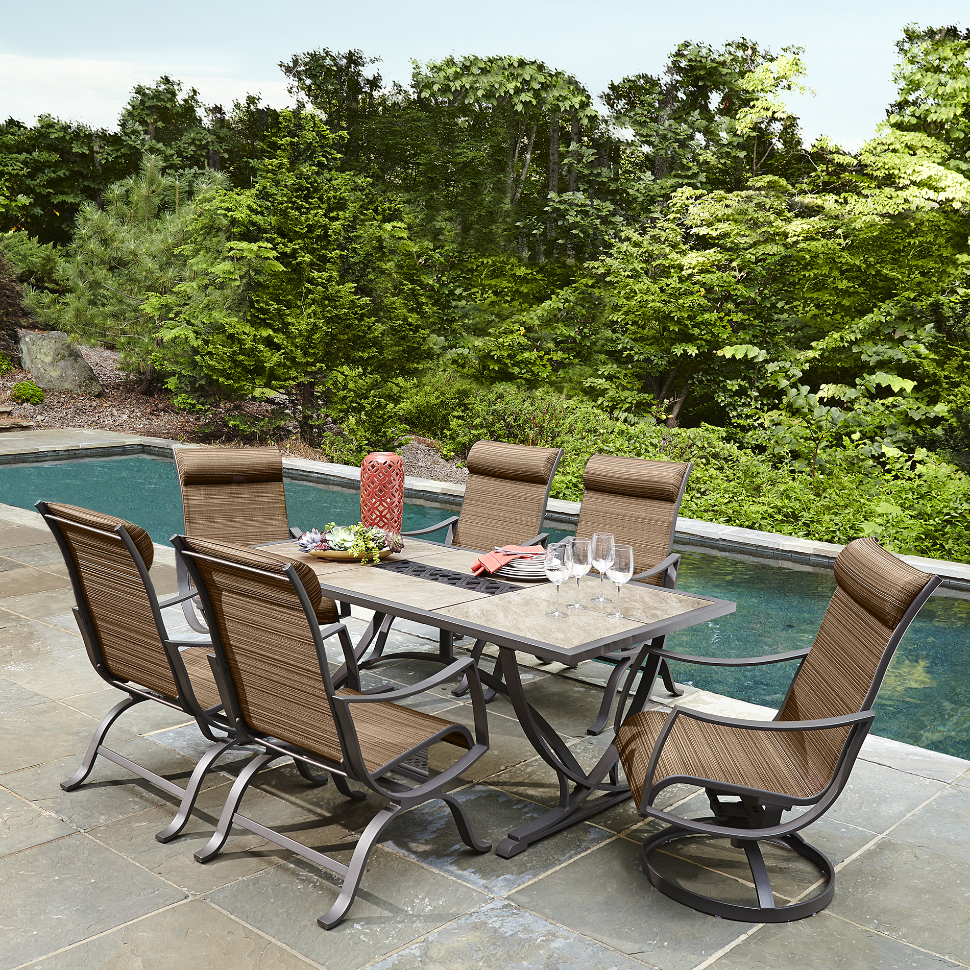 Ty Pennington Palmetto 7 Piece Patio Dining Set Limited Availability Shop Your Way Online