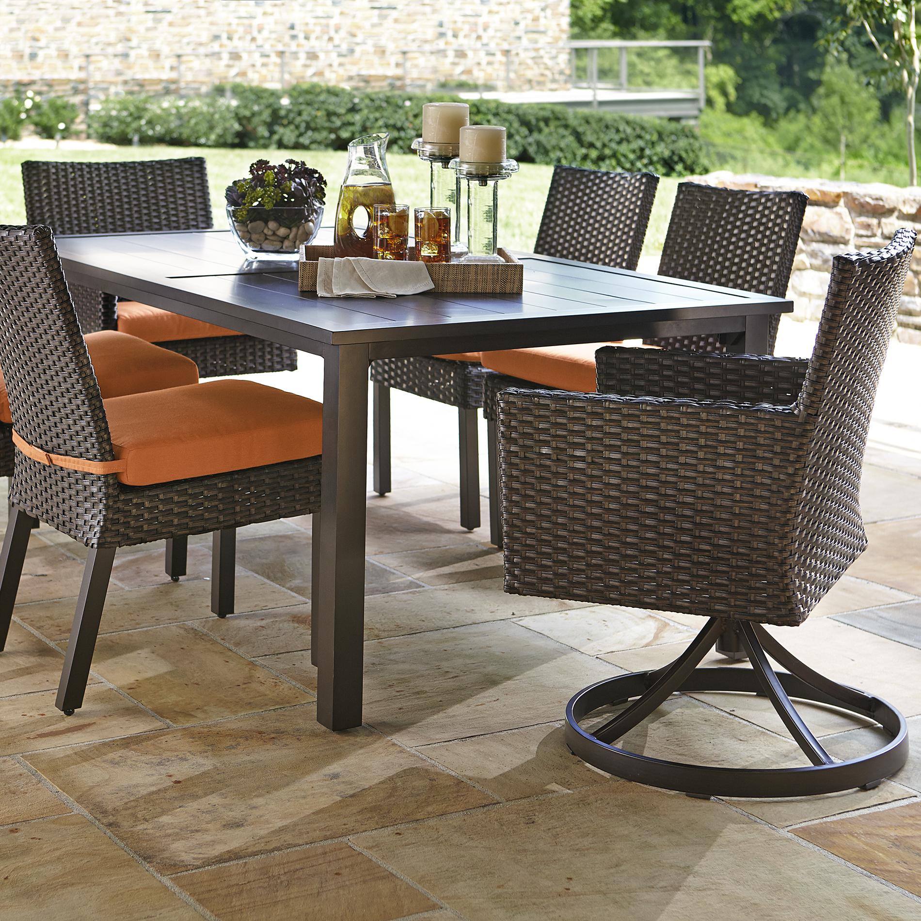 agio international 7 dining rust Agio Patio Furniture id=63075