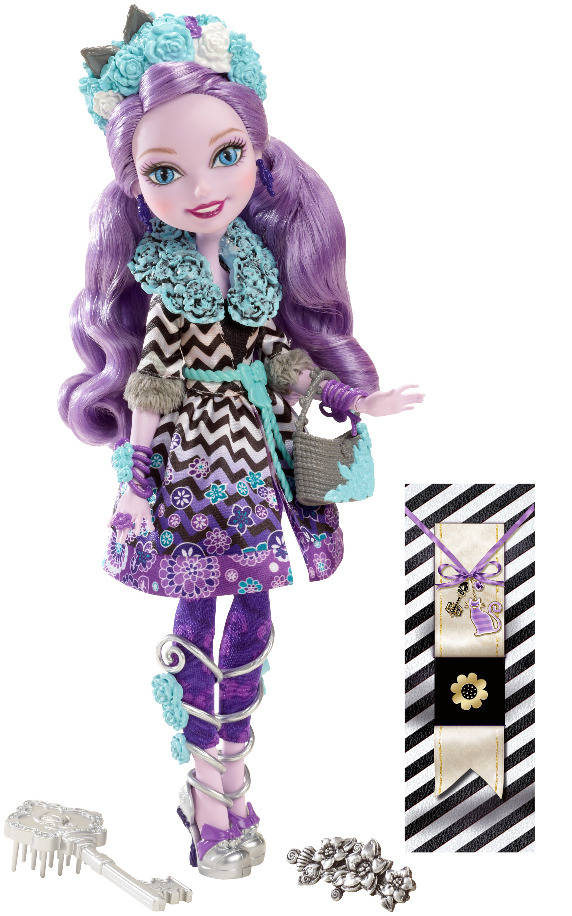 Ever After High Kitty Cheshire Spring Unsprung Doll