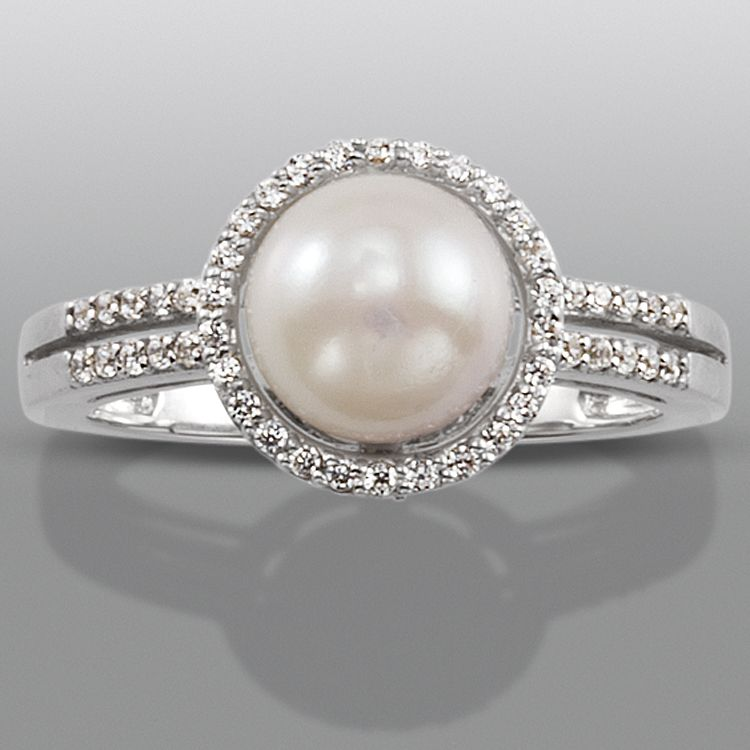 Synthetic White Sapphire Ring Cut Color And Sparkle With
