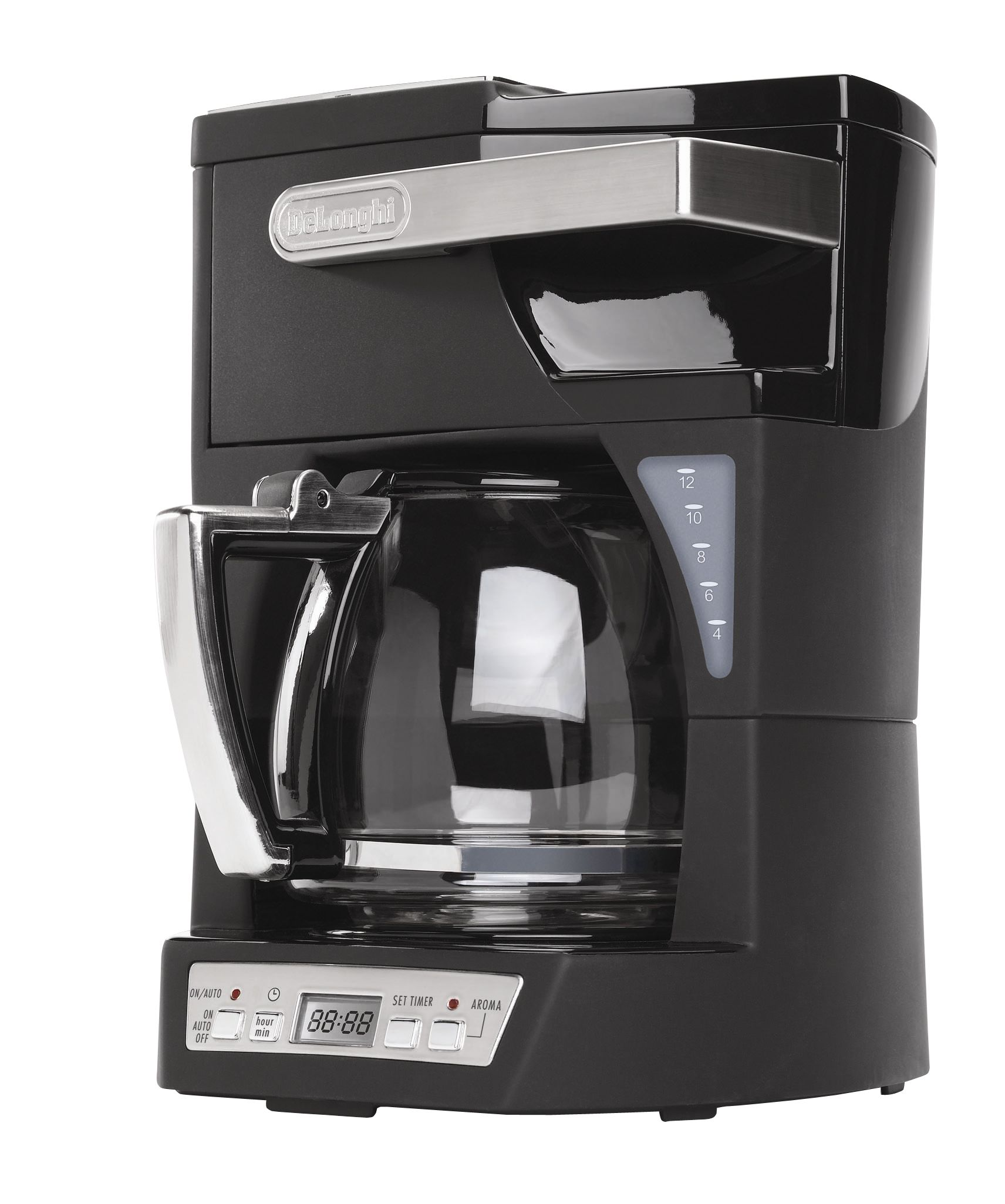 DeLONGHI 12 Cup Front Load Coffee Maker Appliances Small Kitchen Appliances Coffee