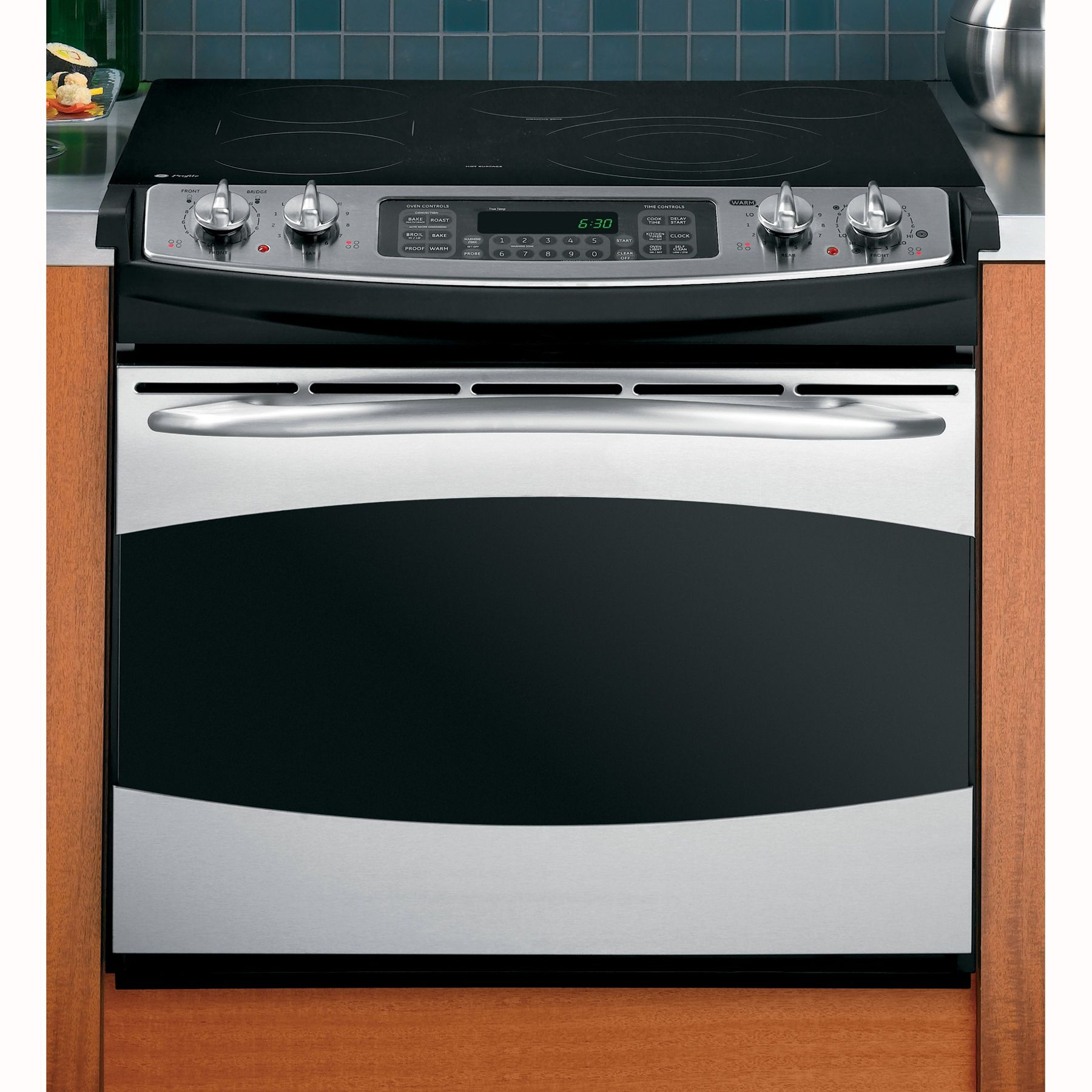 GE Profile Series PD968SPSS Series 30 Convection Drop In