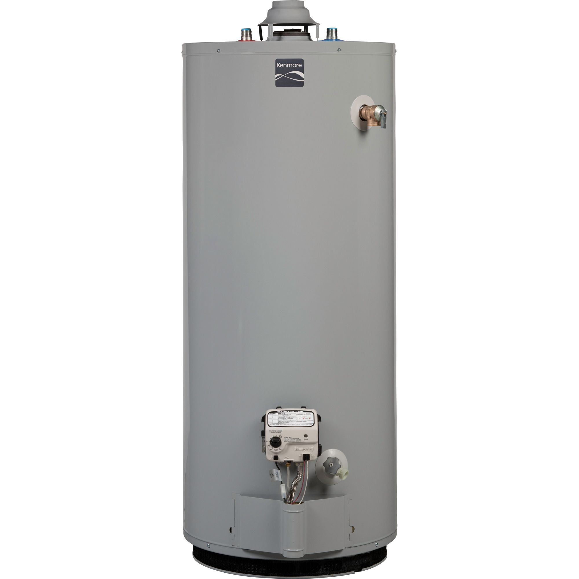 Kenmore Natural gas water heater 40 gal 33165  Sears
