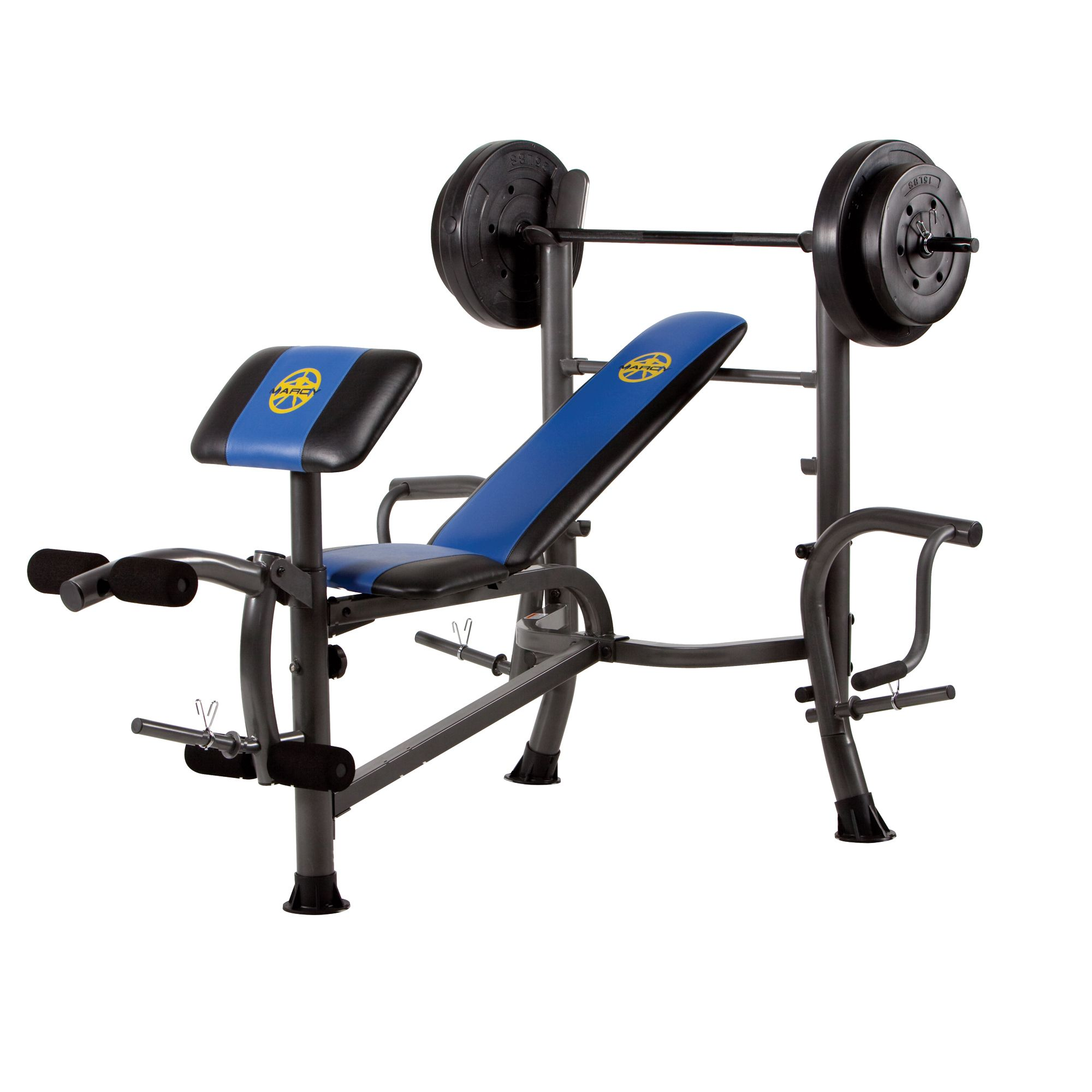 Marcy Fitness 80 Lb Weight Set Bench With Butterfly