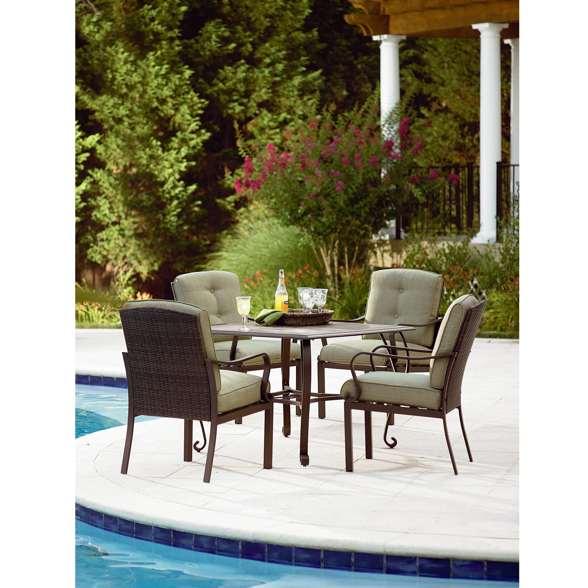 Peyton 5 Piece Patio Set Extend Your Living Space With