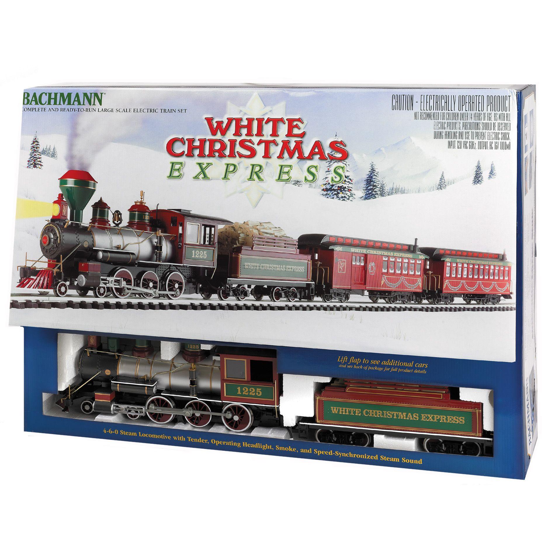 Bachmann Trains Ready To Run White Christmas Express G