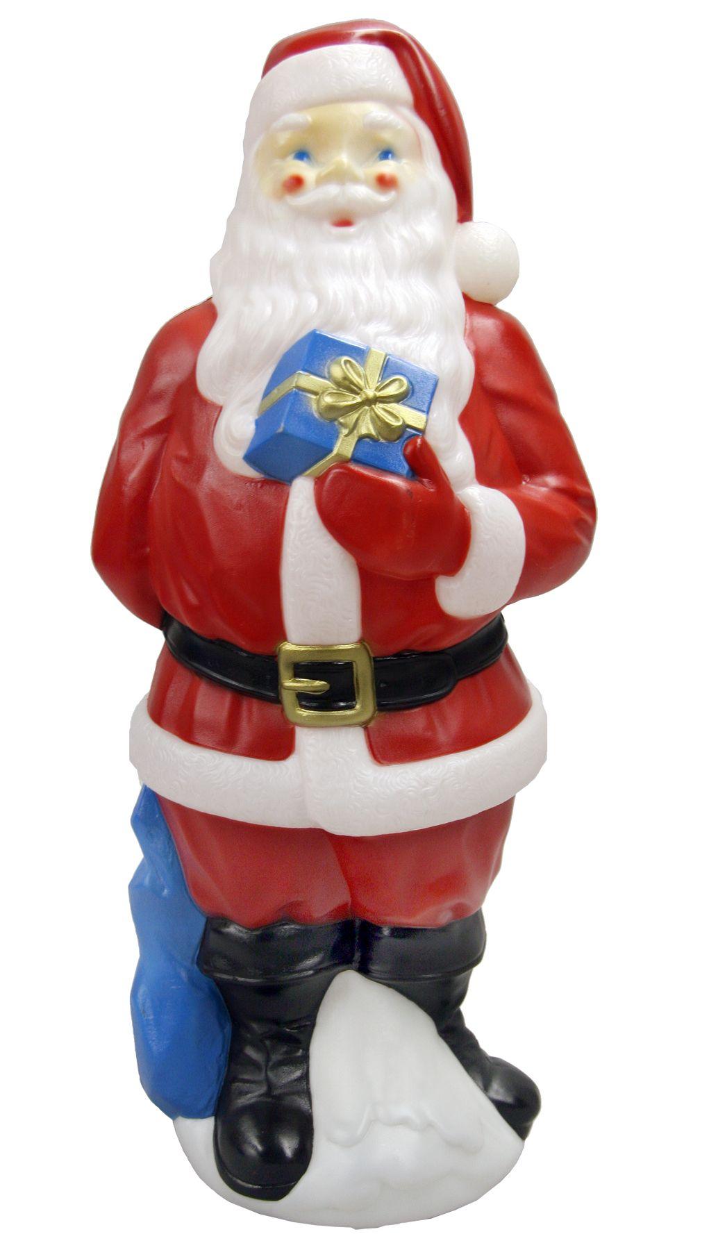 General Foam Plastics 34 Outdoor Light Up Blow Mold Santa