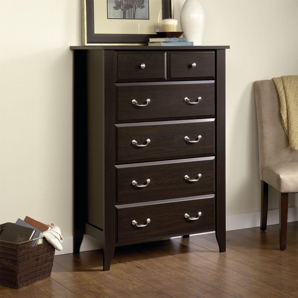 Jaclyn Smith Bedroom Dresser 5 Drawer Chest