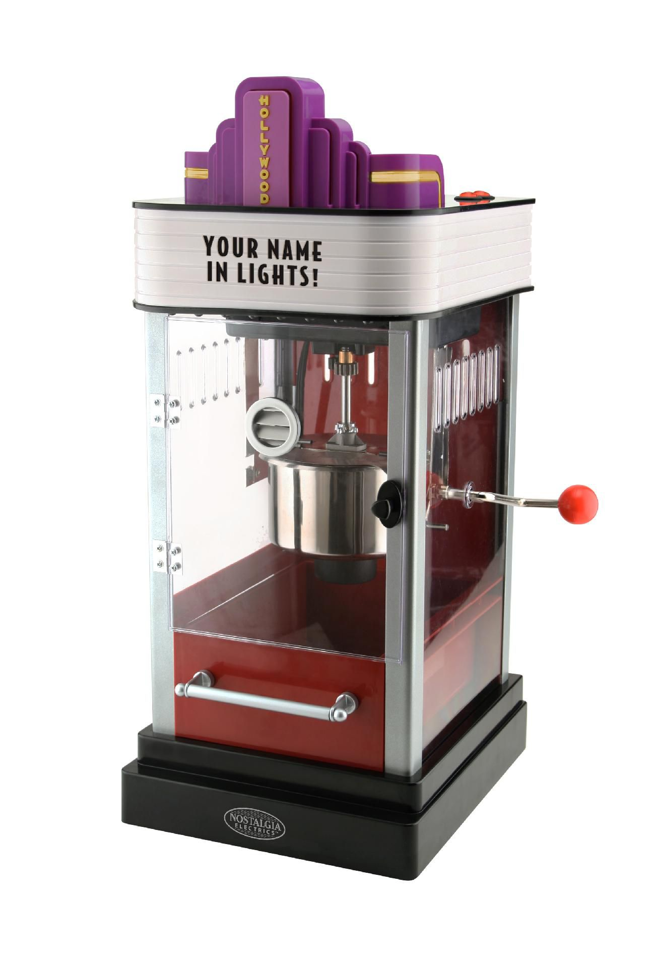 Nostalgia Electrics HKP 200 Hollywood Kettle Popcorn Maker