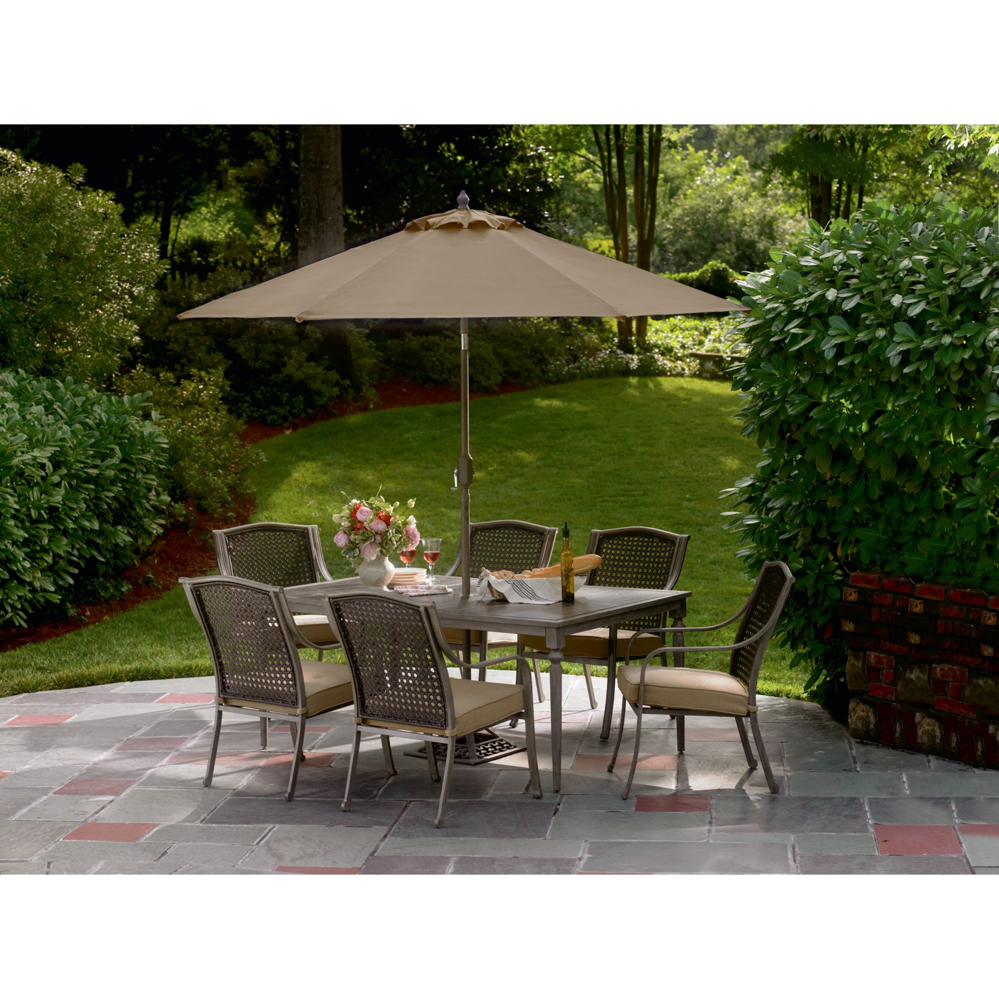 sears patio furniture dining sets Simply Outdoors Crimora 7 Pc. Dining Set - Outdoor Living