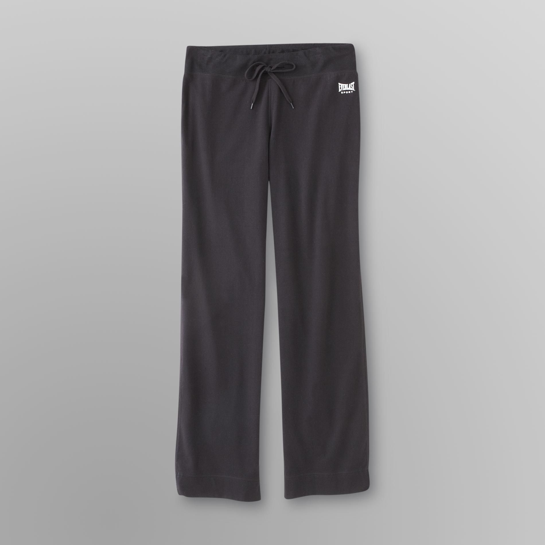 Everlast Sport Womens Relaxed Fit Athletic Pants