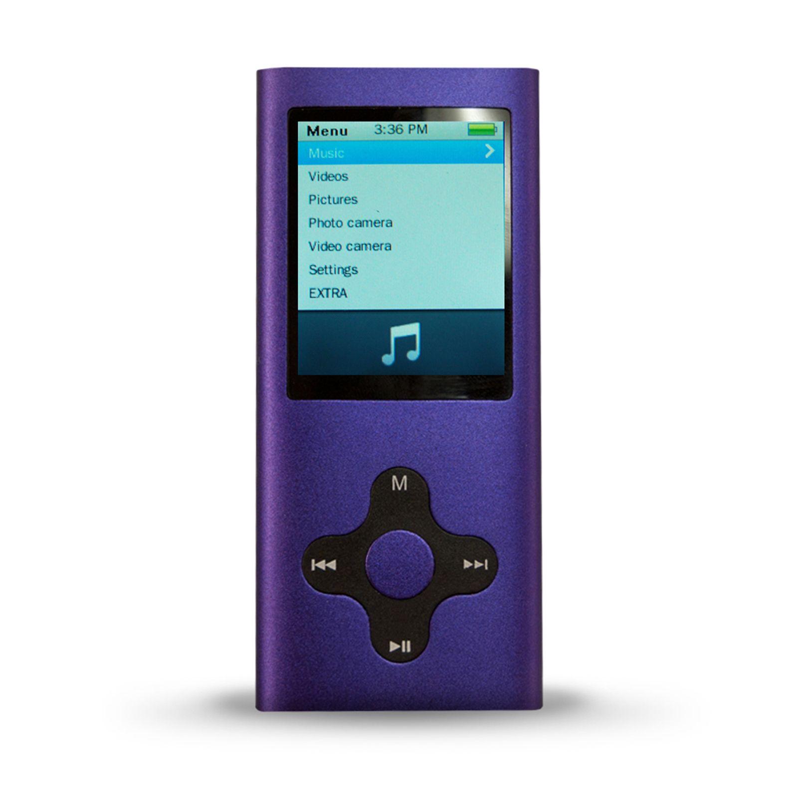 Mach Speed Technologies 4GB MP3 Player Purple TVs
