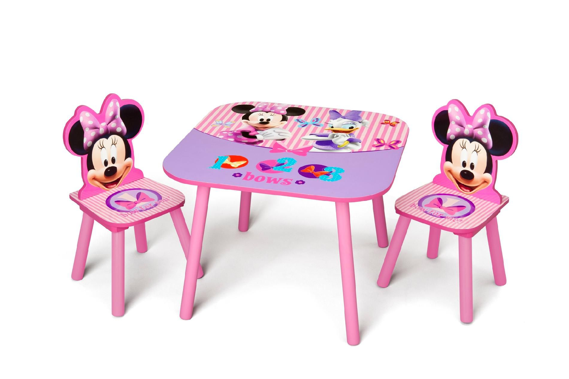 Delta Minnie Mouse Childs Table And Chair Set Kmart