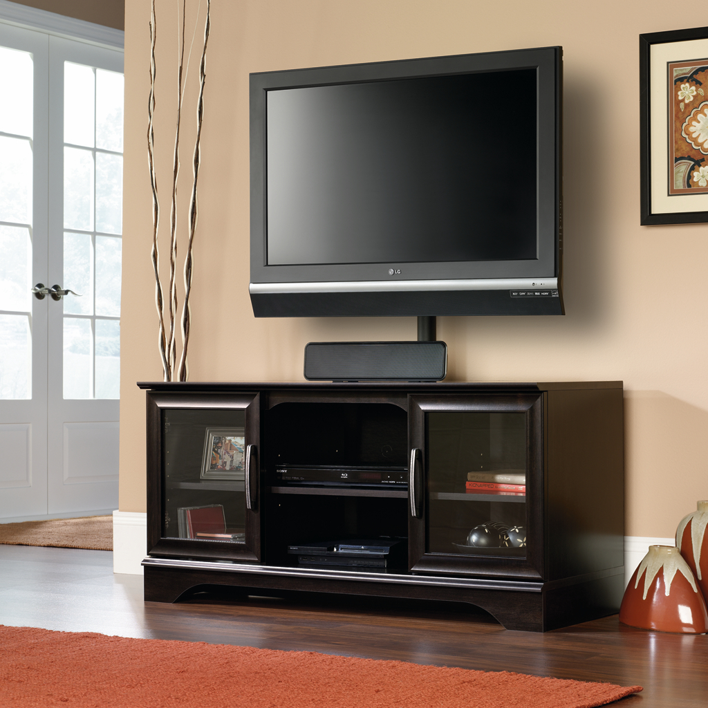 Dorel Home Furnishings Galaxy TV Stand With Mount Home Furniture Game Room Amp Media