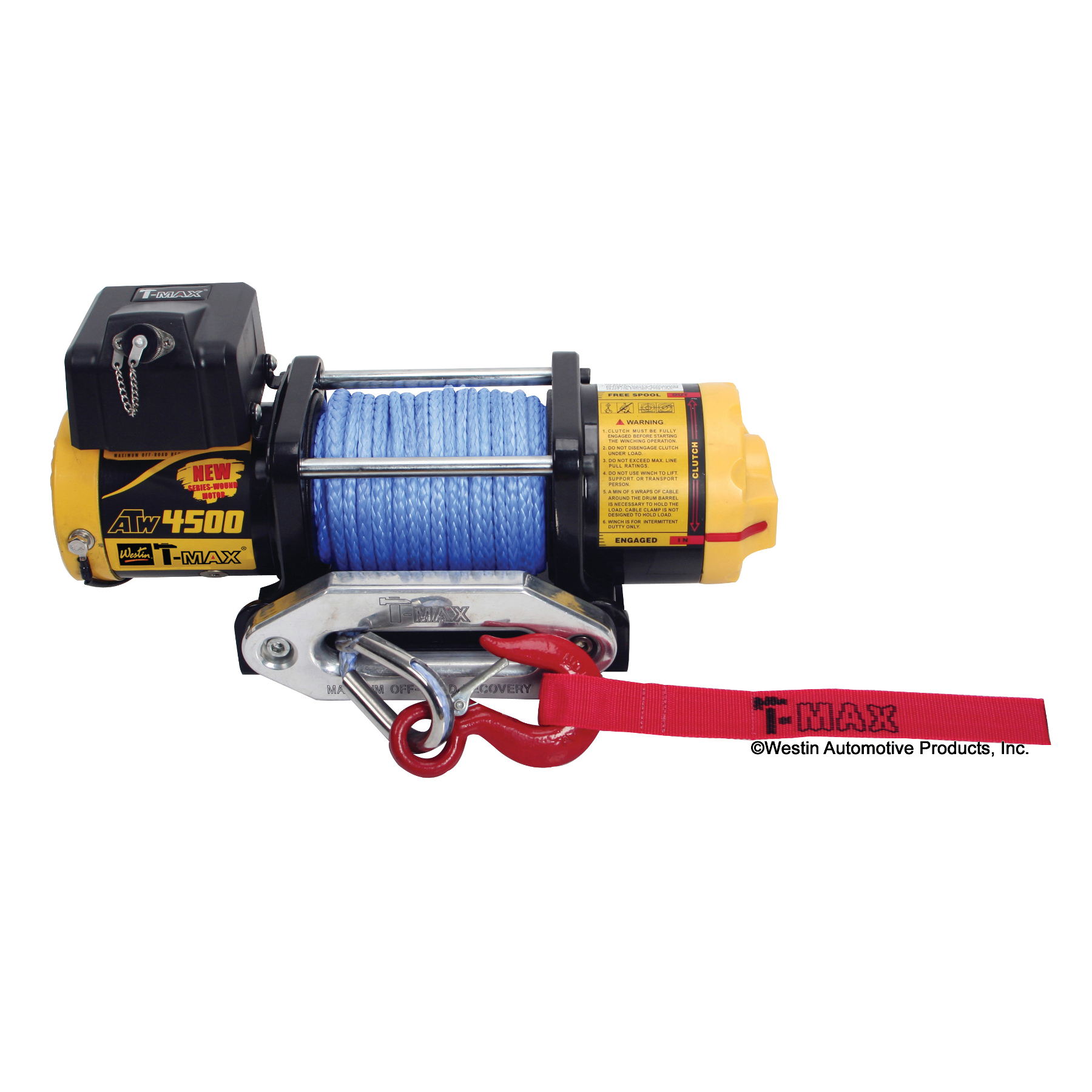 TMax ATW PRO4500S Winch Synthetic Rope  Automotive