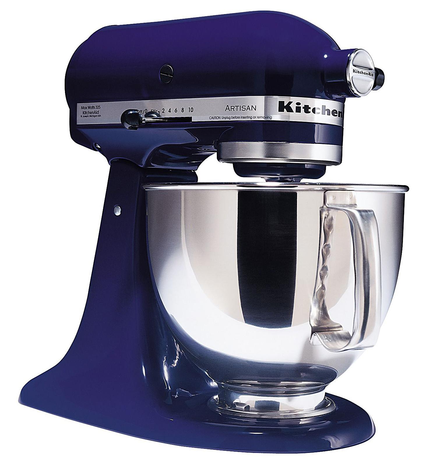 KitchenAid KSM150PSB Artisan Series 5 Quart Stand Mixer