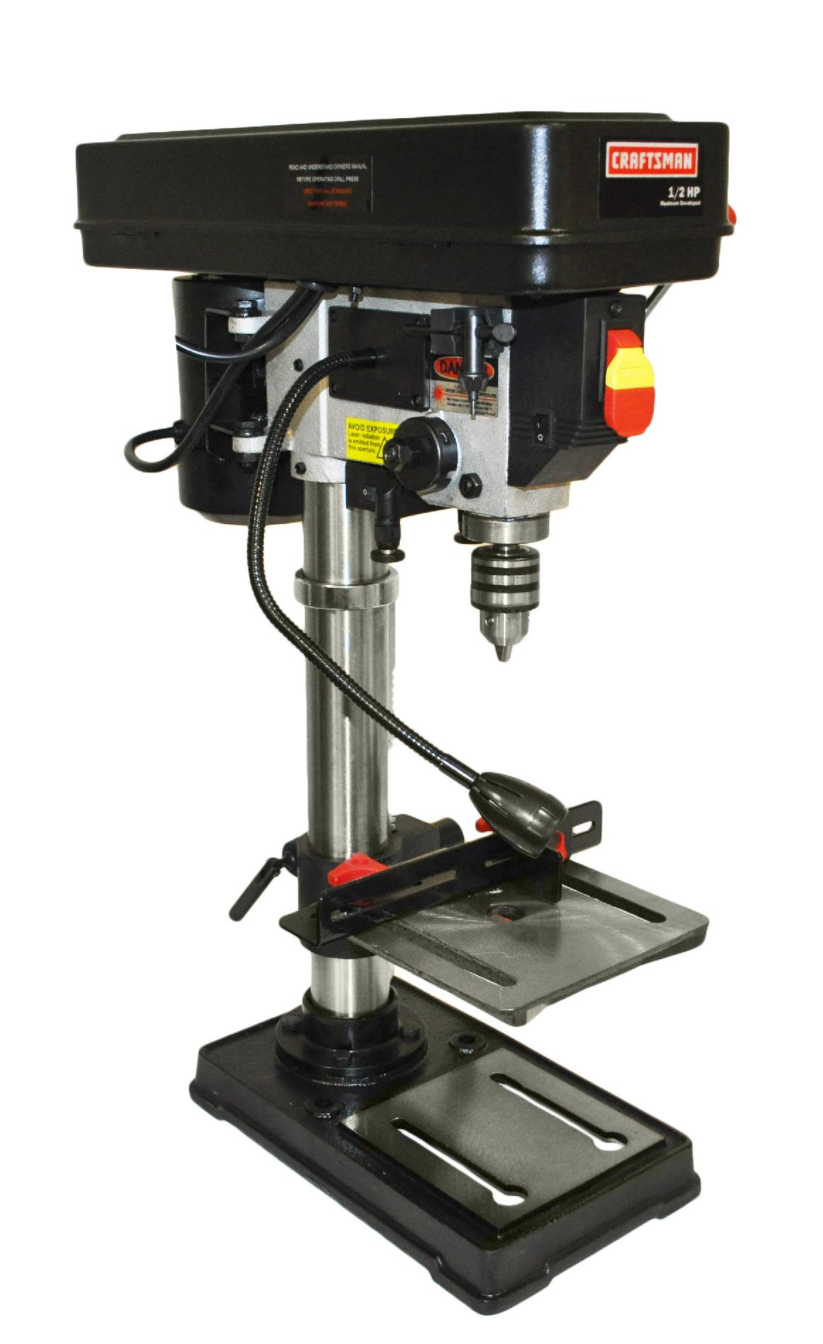 Craftsman 10 Quot Bench Drill Press With Guiding Laser