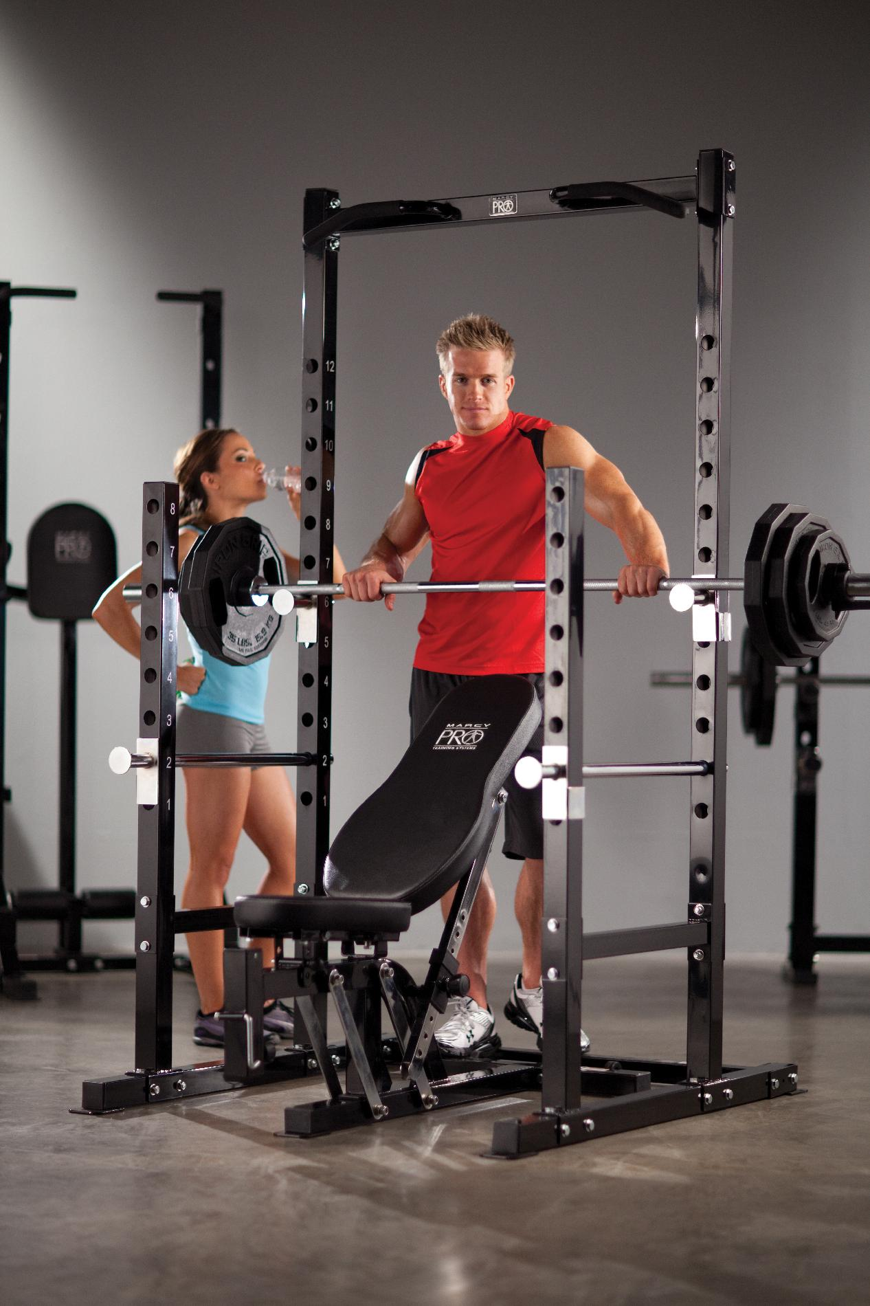 Marcy Pro Power Rack Bench Fitness Amp Sports Fitness