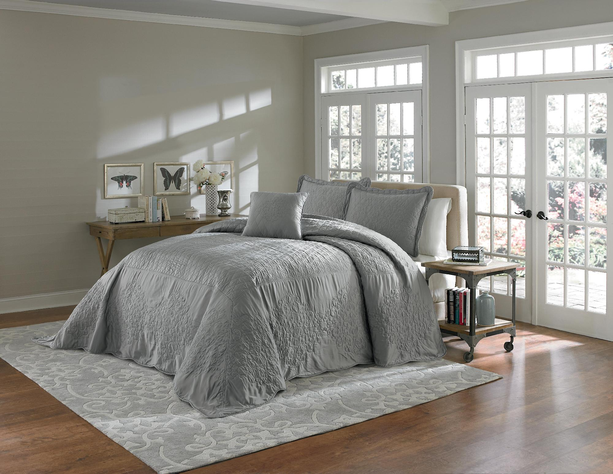 Cannon Gray Bedspread