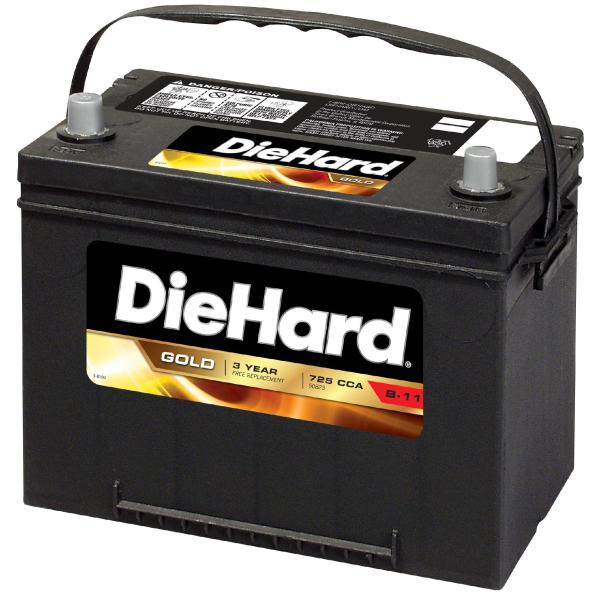 DieHard   50823   Gold Automotive Battery   Group Size EP 24F  Price     DieHard Gold Automotive Battery   Group Size EP 24F  Price with Exchange