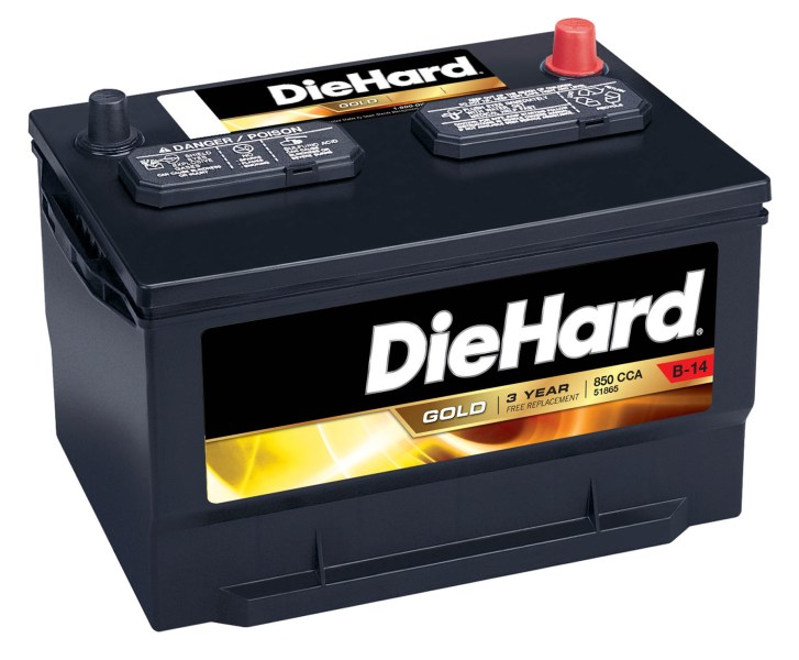 DieHard   51865   Gold Automotive Battery   Group Size JC 65  Price     DieHard Gold Automotive Battery   Group Size JC 65  Price with Exchange