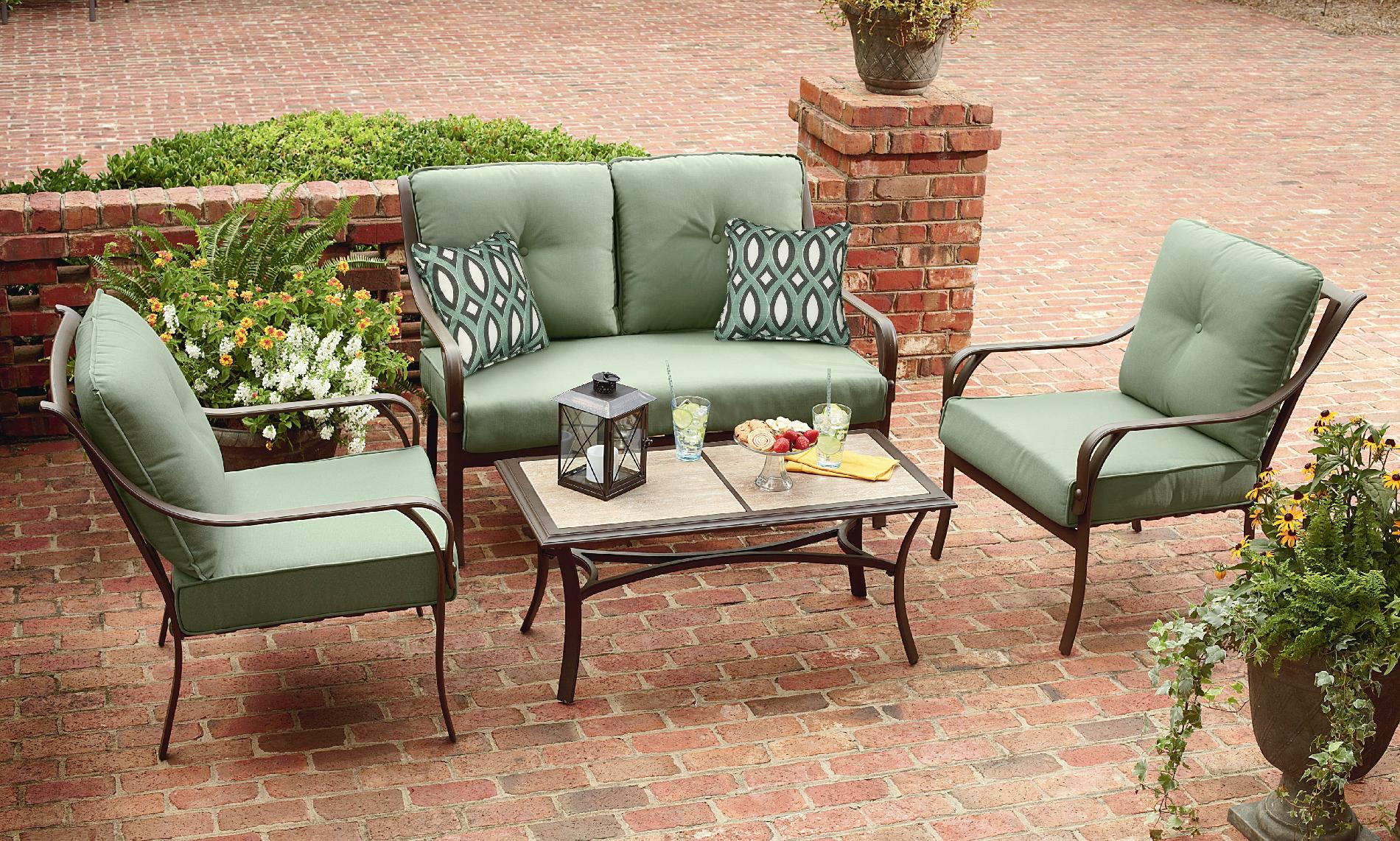 Grand Harbor Anderson 4 Piece Seating *Limited ... on Outdoor Living Ltd  id=13502