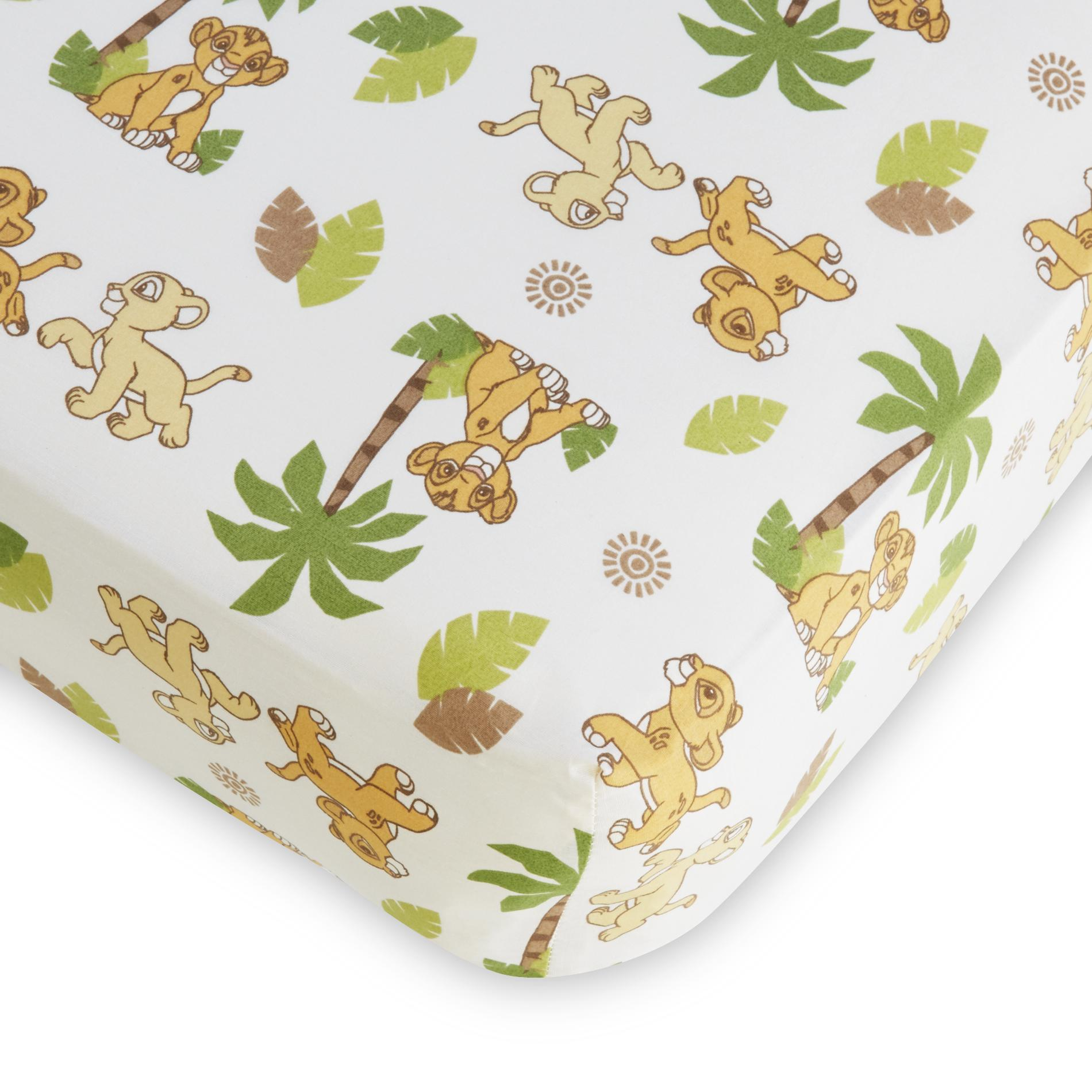 Disney Baby Lion King Fitted Crib Sheet Baby Baby