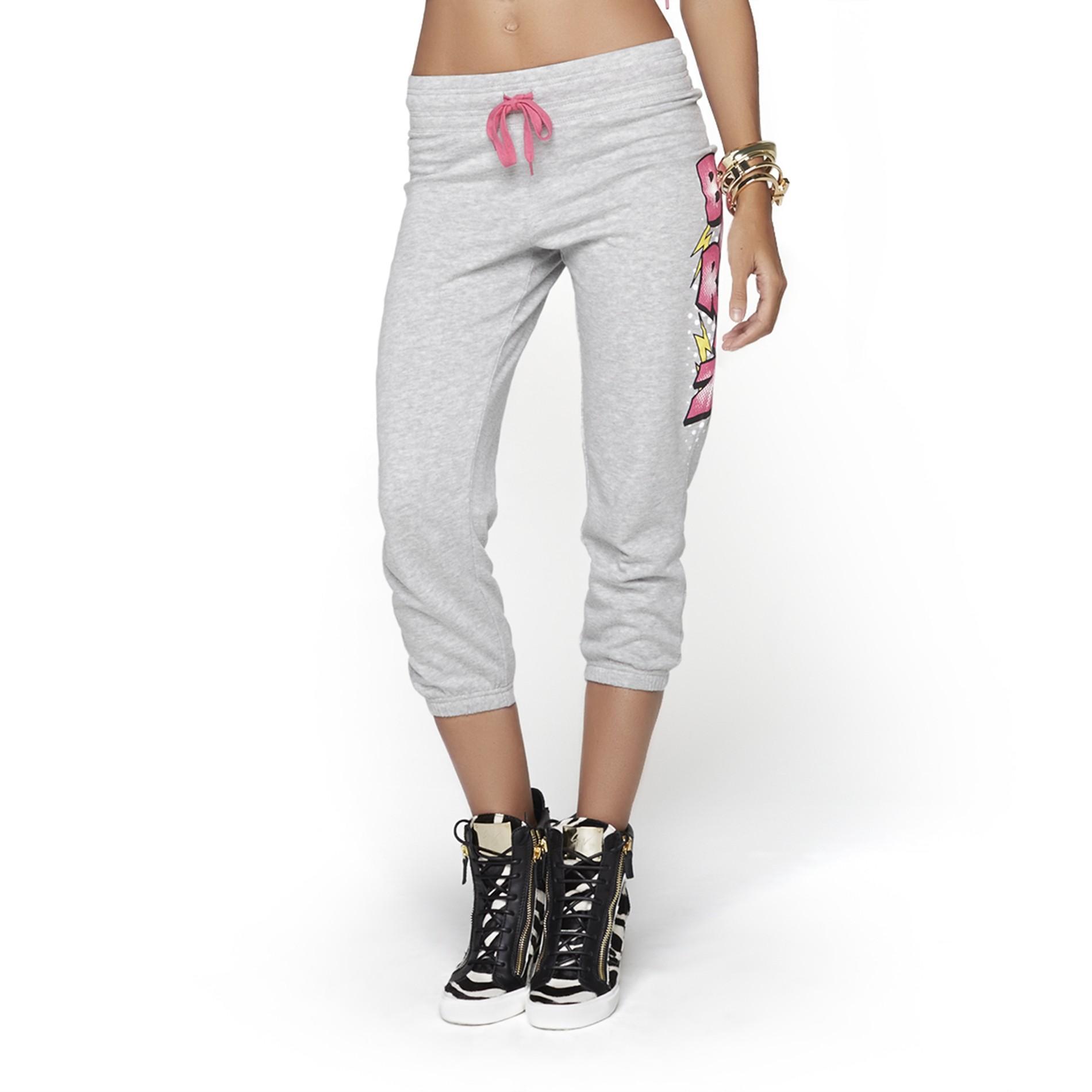 Nicki Minaj Women's Cropped Drawstring Pants - Barbz