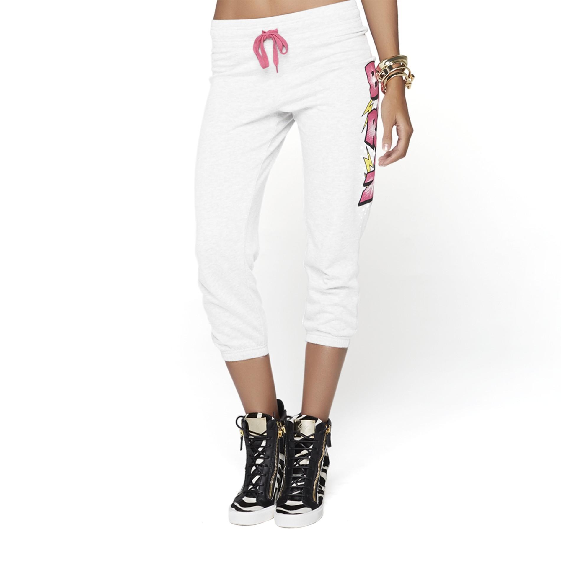 Nicki Minaj Women's Cropped Drawstring Pants